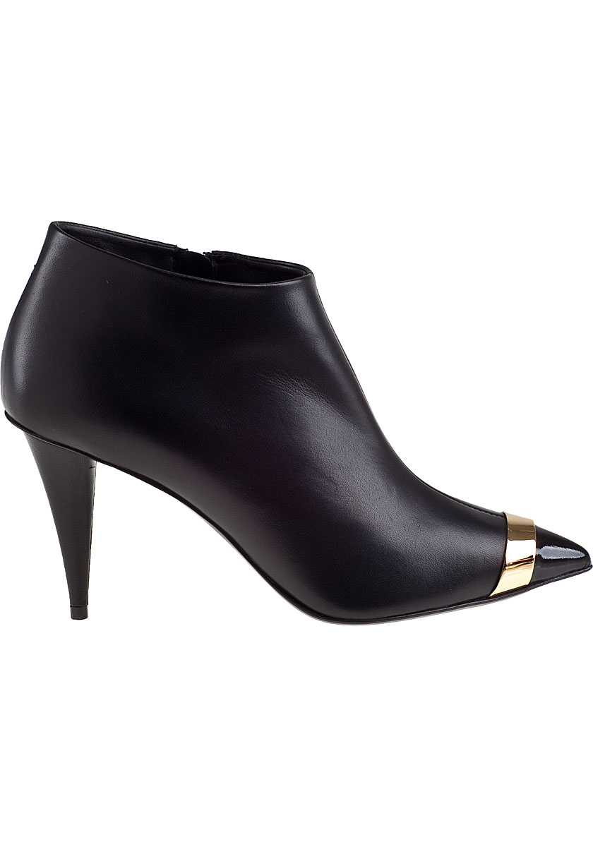 Giuseppe Zanotti Leather Cap-Toe Booties quality free shipping for sale free shipping outlet store clearance outlet pxMUQAS3Z