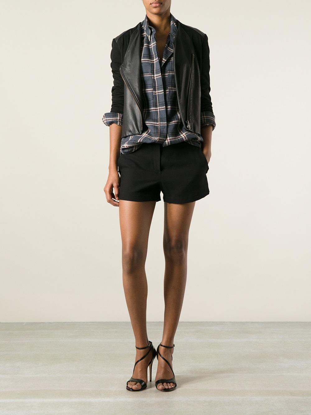 lyst toile isabel marant upton shirt in gray. Black Bedroom Furniture Sets. Home Design Ideas