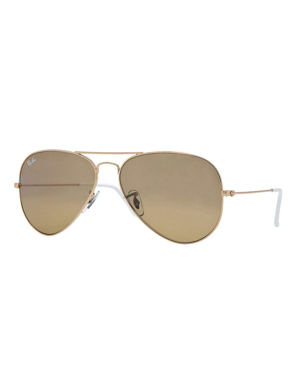 ray ban classic aviator sunglasses in gold lyst. Black Bedroom Furniture Sets. Home Design Ideas