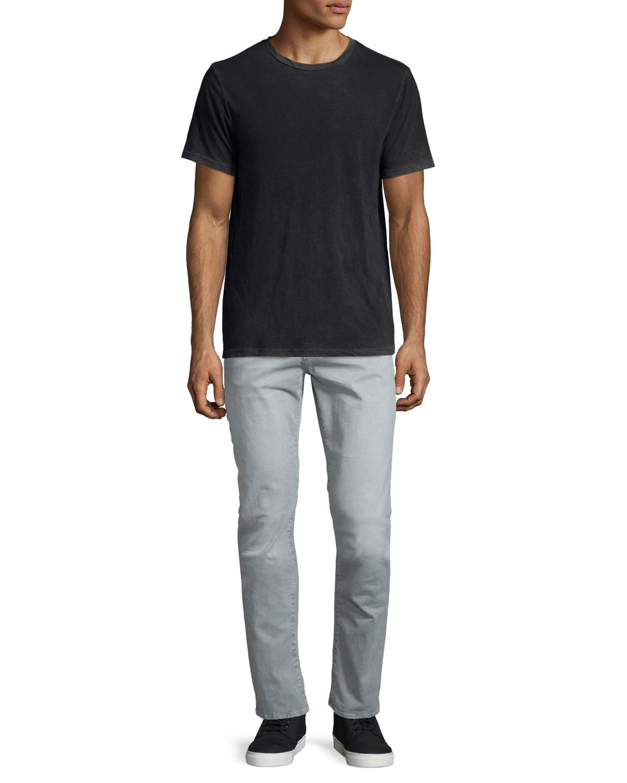 j brand tyler slim straight jeans in gray for men lyst. Black Bedroom Furniture Sets. Home Design Ideas
