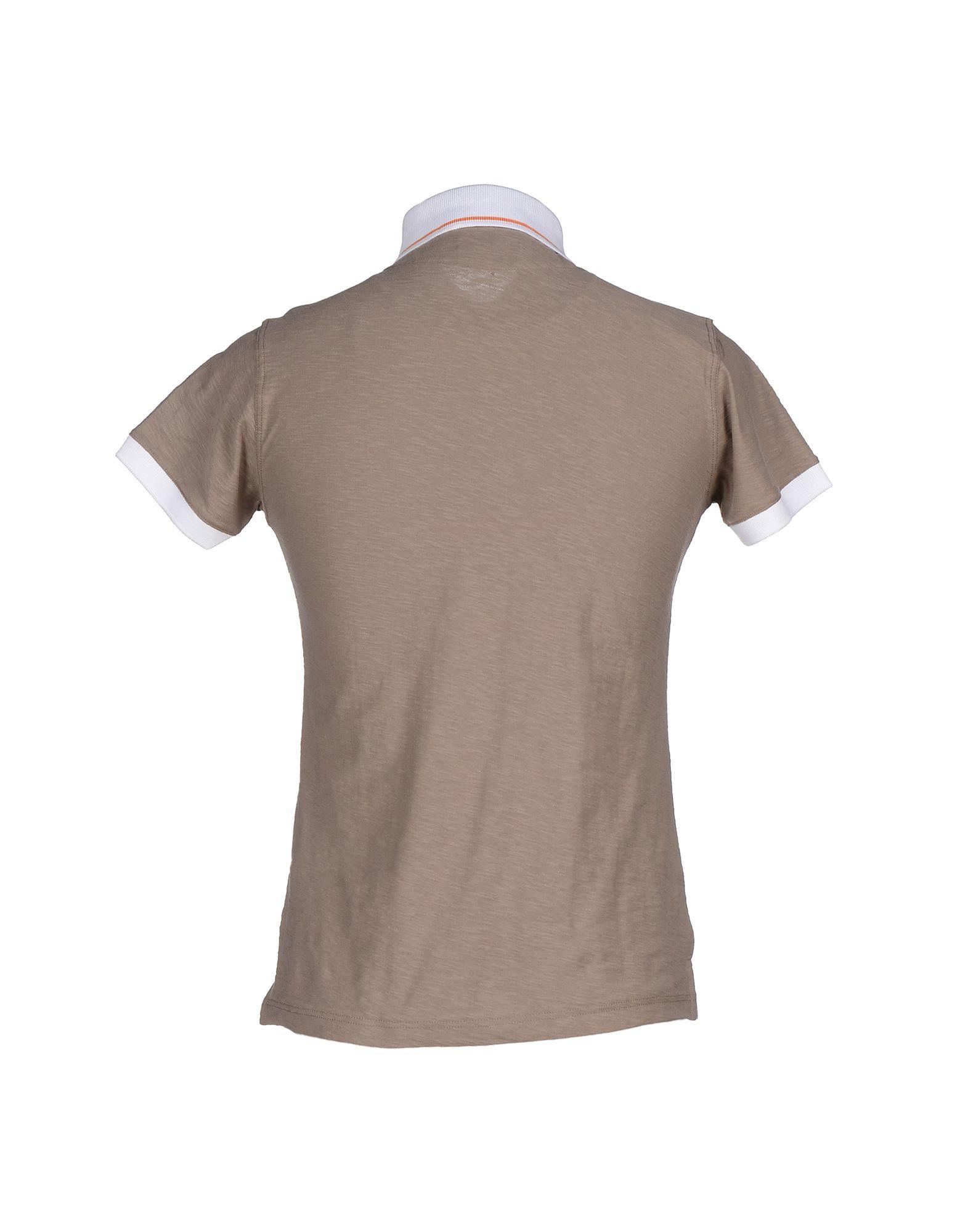 Lyst Barbati Polo Shirt In Brown For Men