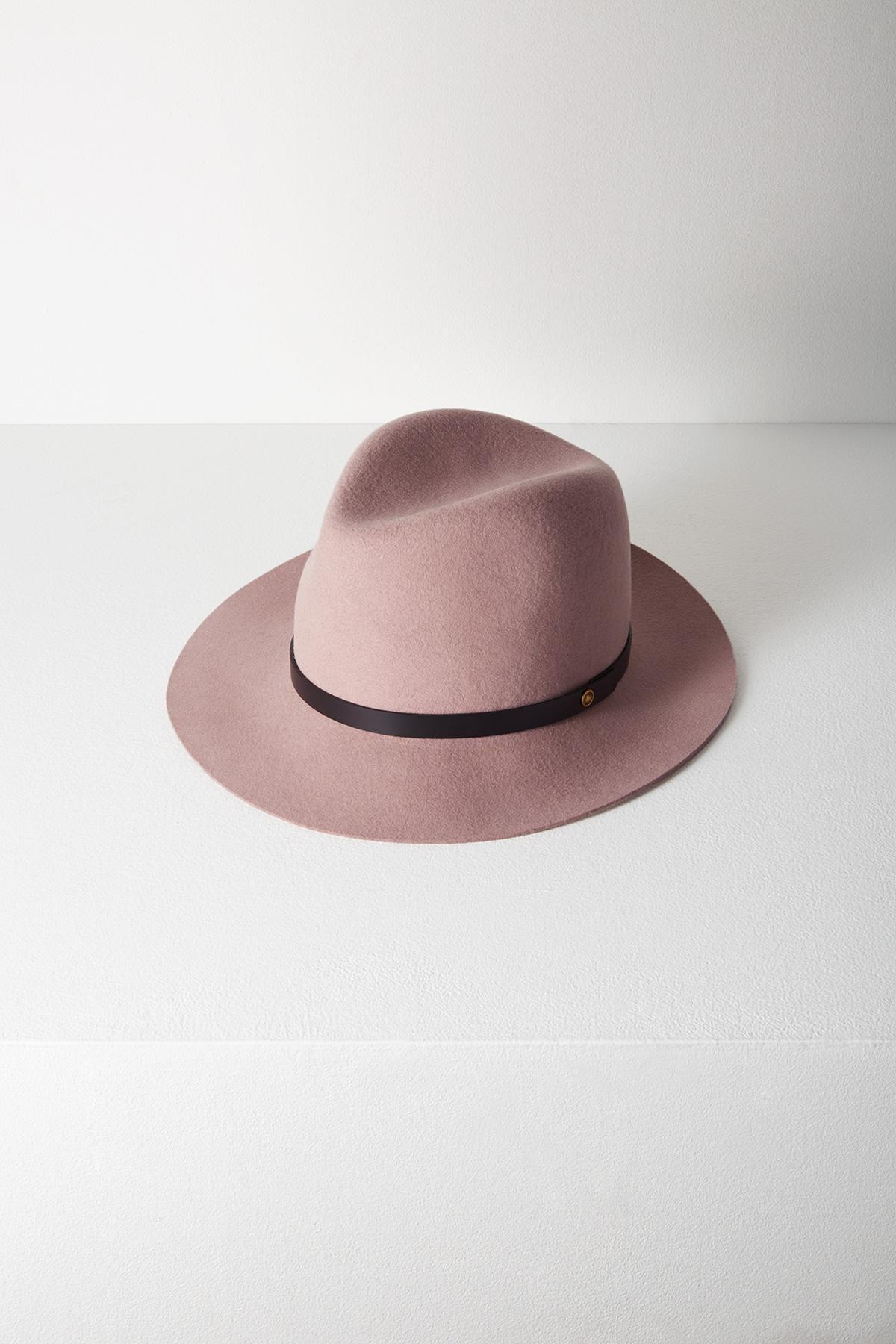 Lyst - Rag   Bone Floppy Brim Fedora in Pink 9f7f8bd3b8a