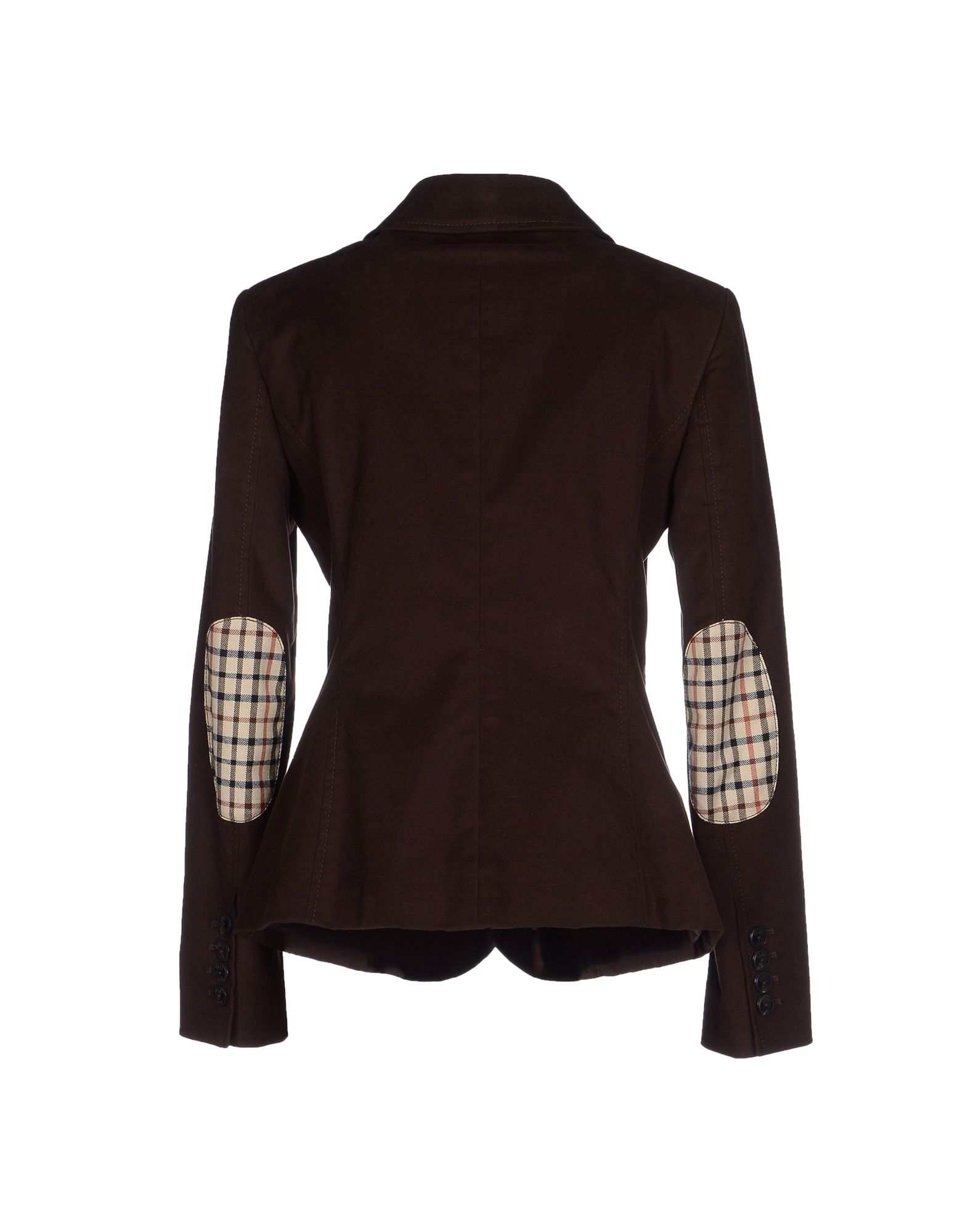 Daks Blazer In Brown Lyst