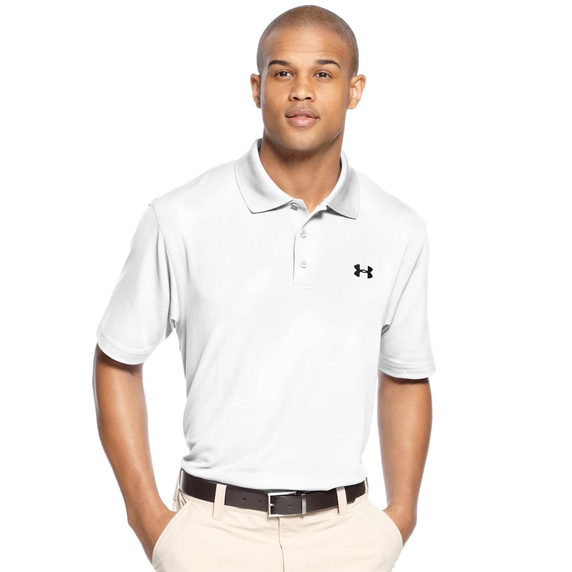under armour ua performance polo in red for men lyst. Black Bedroom Furniture Sets. Home Design Ideas