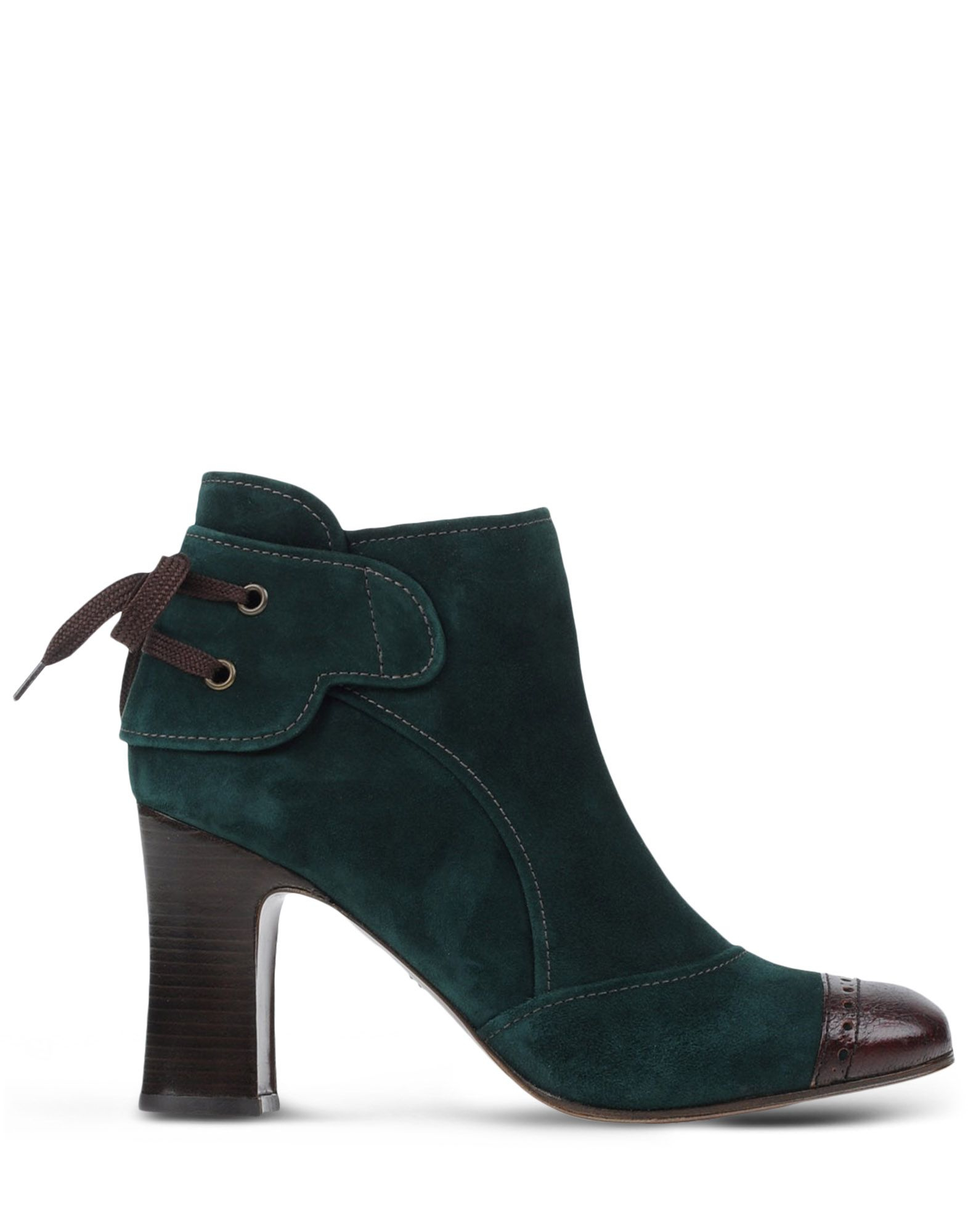 chie mihara ankle boots in green lyst