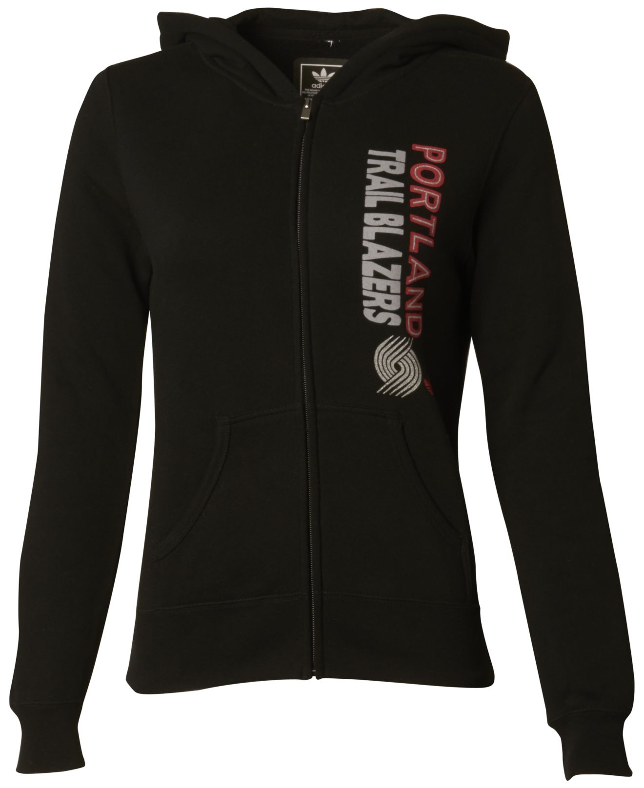 Adidas Women's Portland Trail Blazers Full-zip Hoodie In