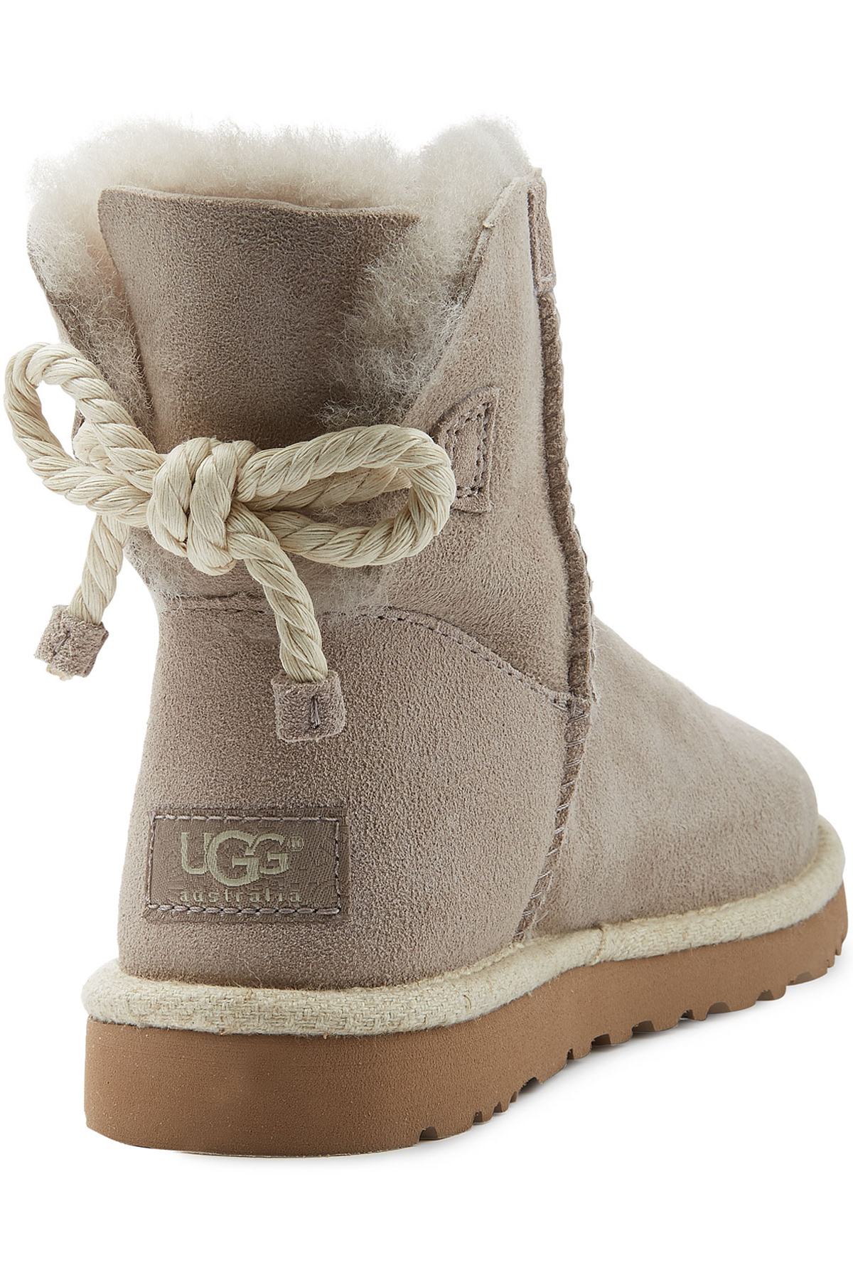Lyst Ugg Selene Suede Boots In Gray