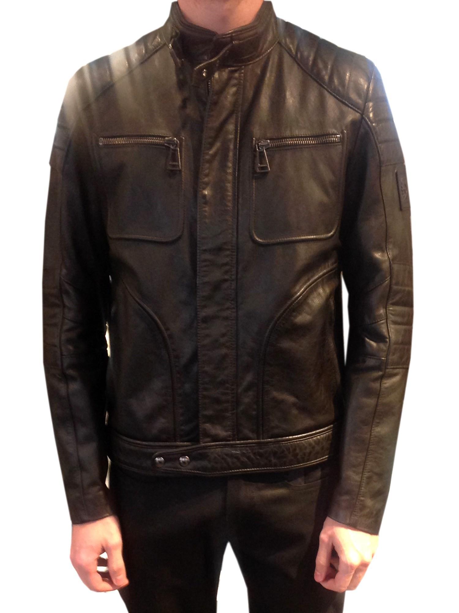 belstaff weybridge jacket in black for men nero lyst. Black Bedroom Furniture Sets. Home Design Ideas