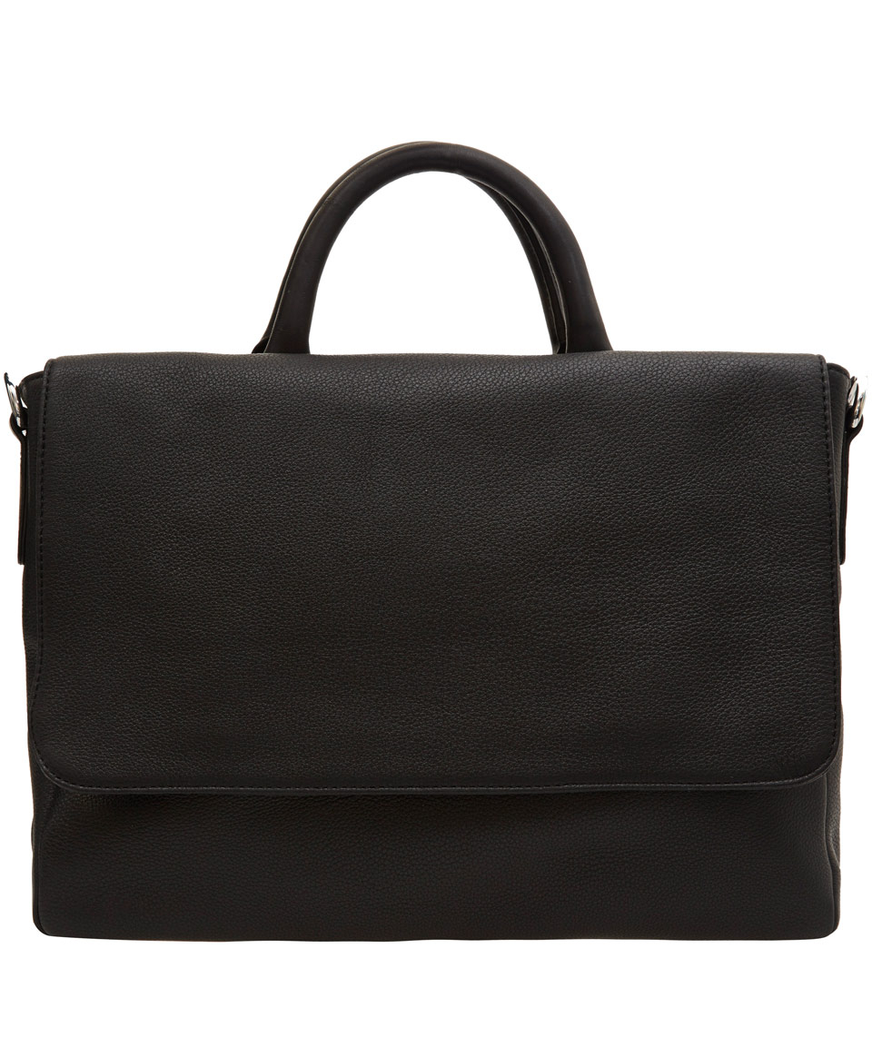 Lyst Marc By Marc Jacobs Black Classic Leather Messenger
