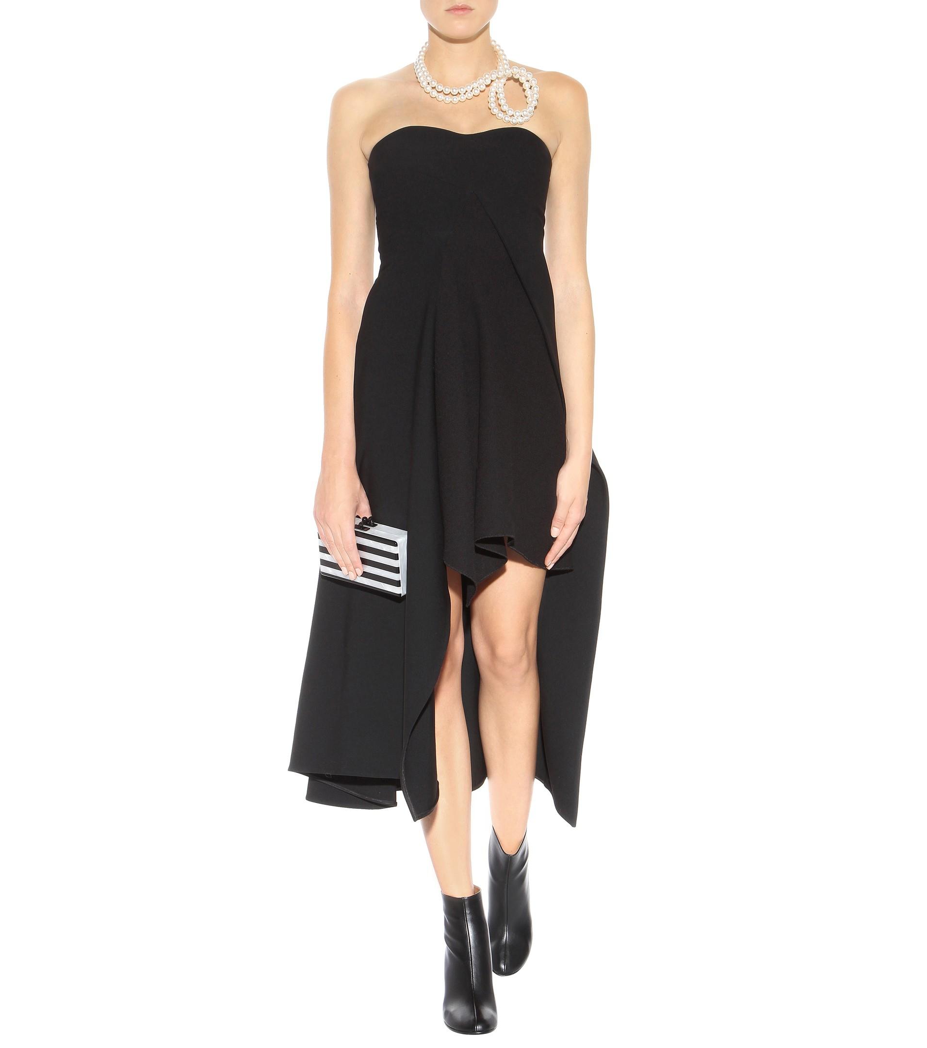 Sleeveless crêpe dress Stella McCartney Outlet Order pp95e