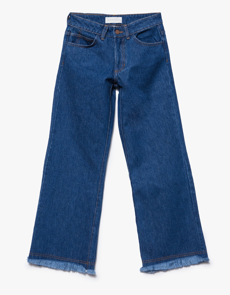 Objects without meaning Flare Jean Vintage in Blue