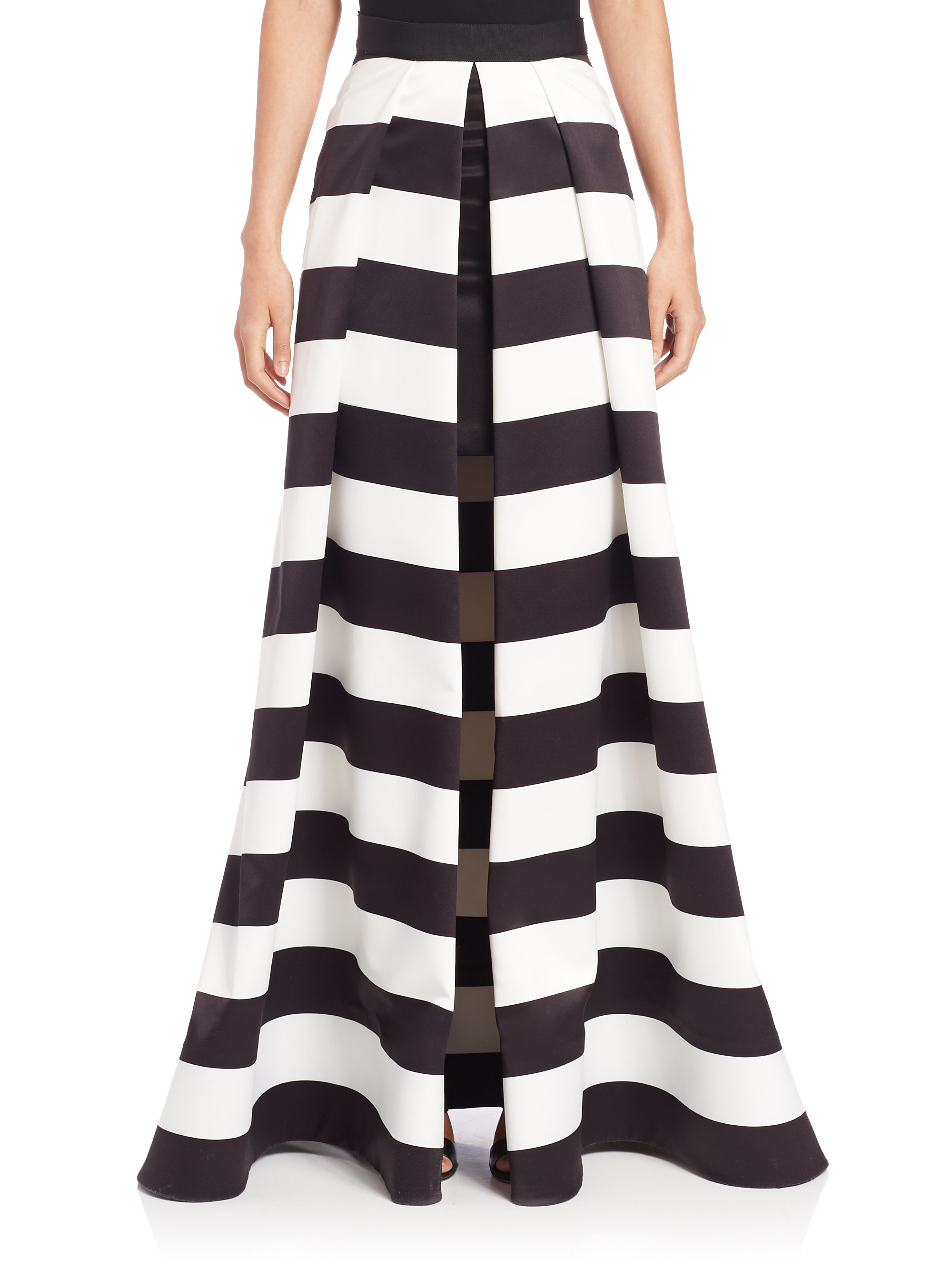 Alice + olivia Mauri Ball Skirt in Black | Lyst