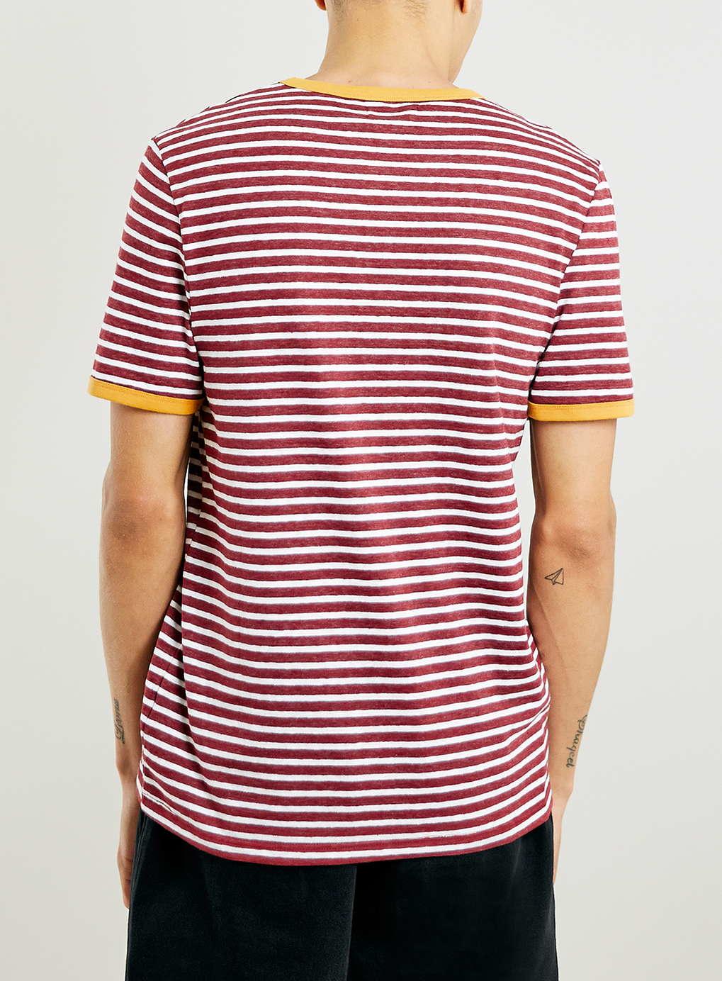 Blue and burgundy striped mens sweaters hope, you
