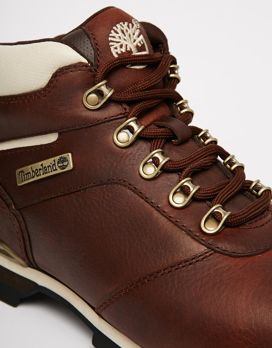 446a4eb68fb Timberland Splitrock 2 Hiking Boots in Brown for Men - Lyst