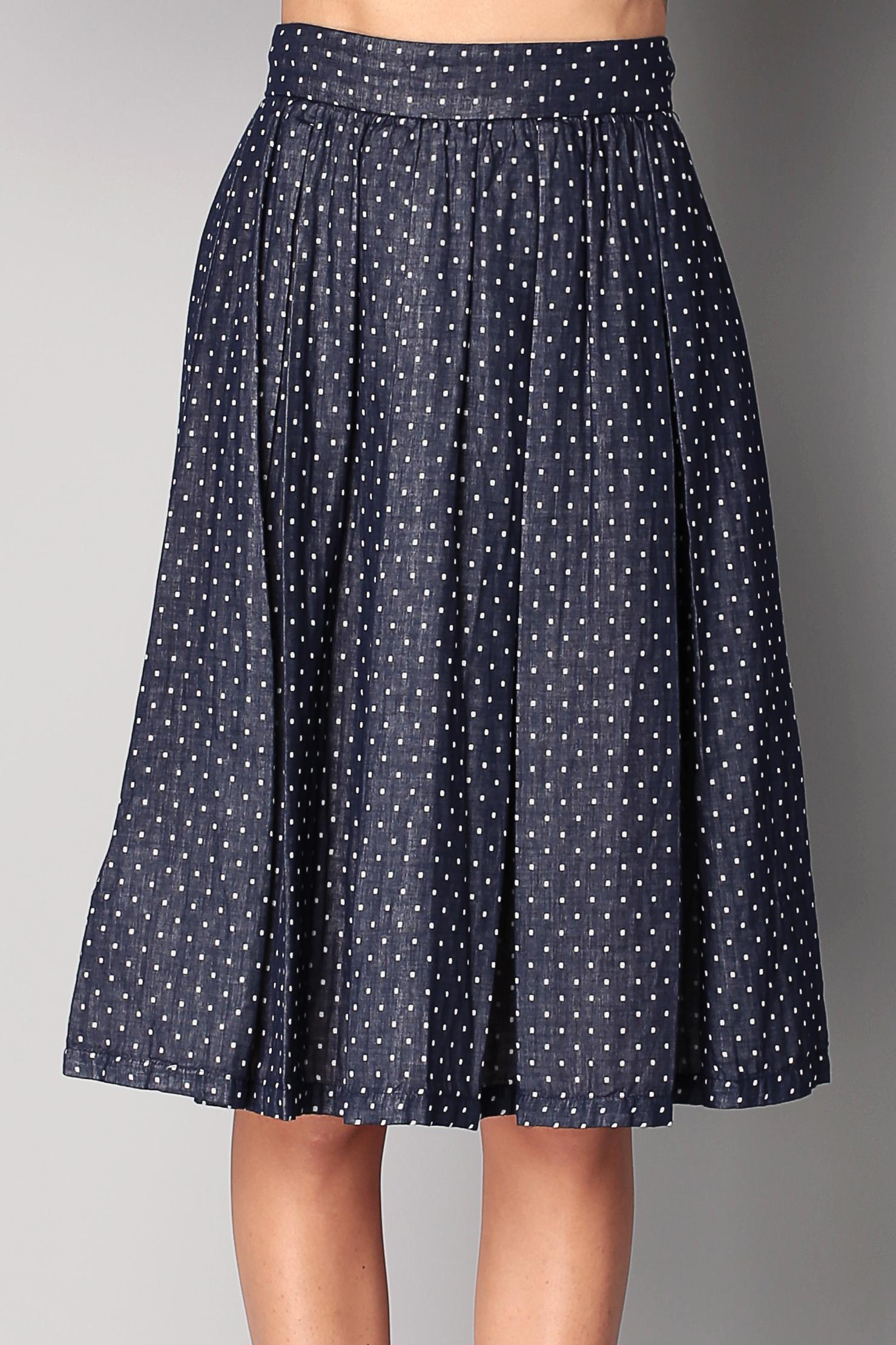 bcbgeneration midi skirt maxi skirt in blue lyst