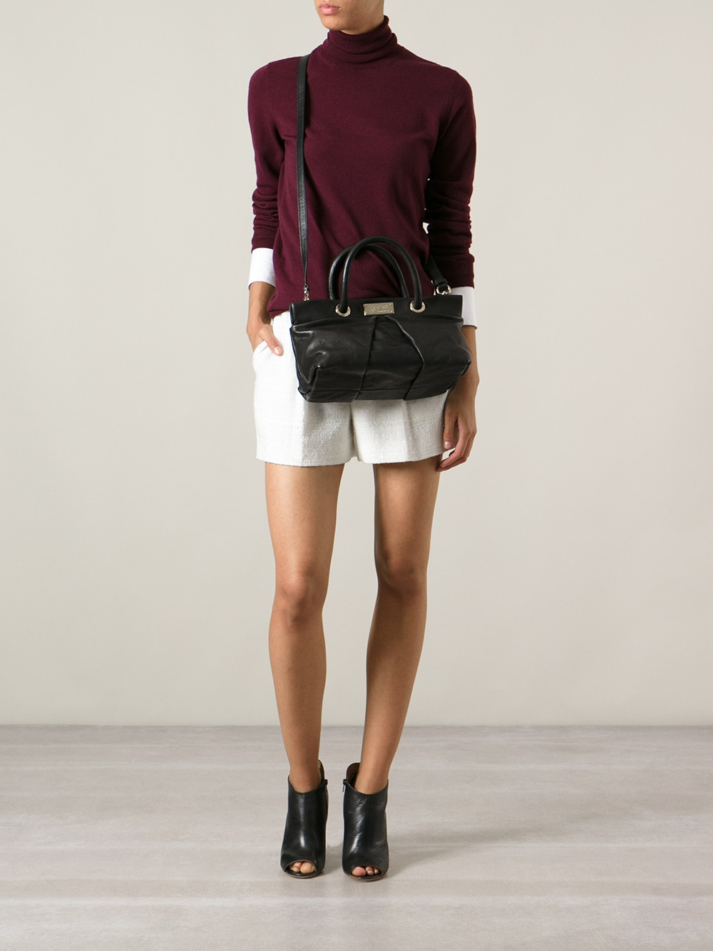 Marc By Marc Jacobs Marchive Percy Cross Body Bag in Black