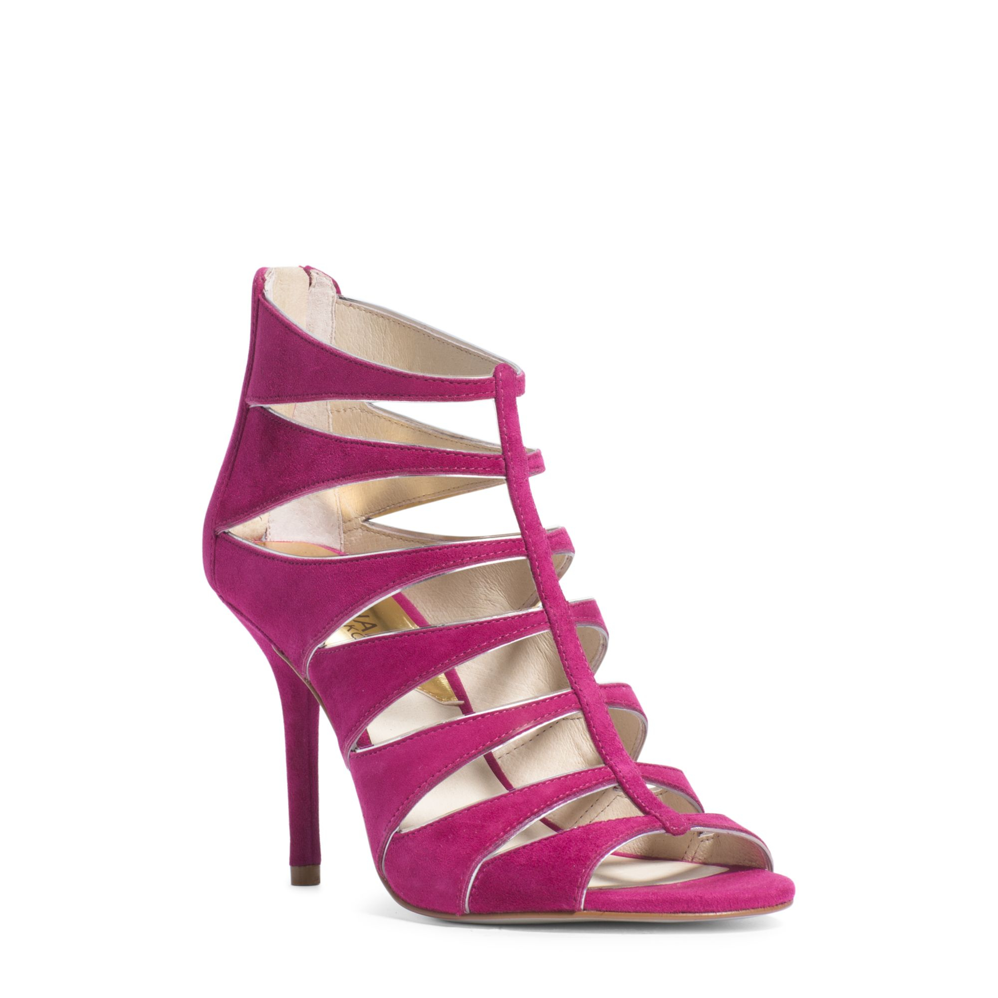 192fabb8b99 Michael Kors Pink Mavis Open Toe