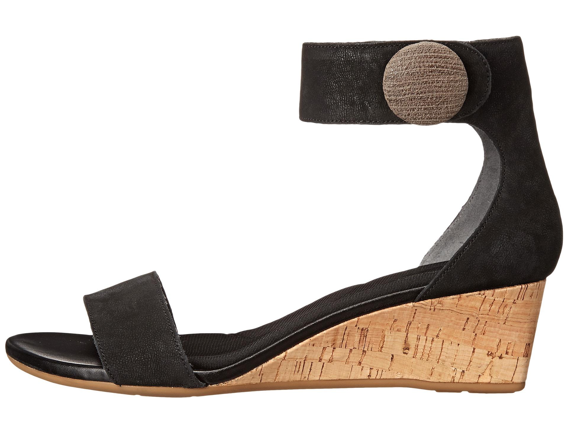 rockport total motion 55mm ankle wedge sandal