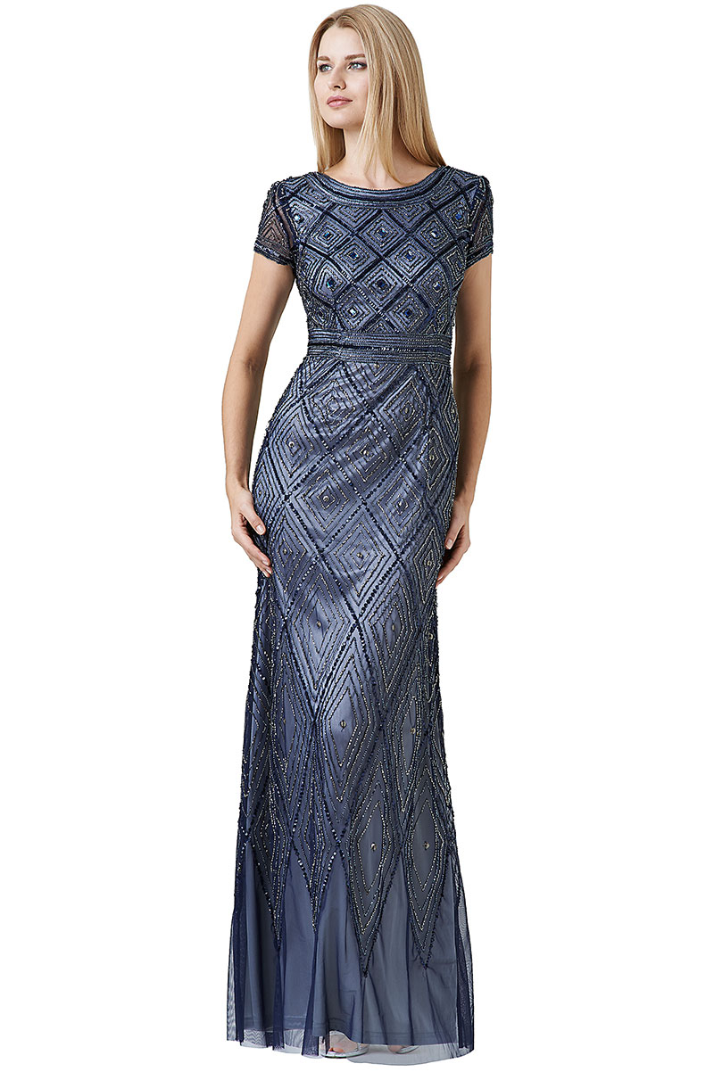Long Beaded Dresses Photo Album - Reikian