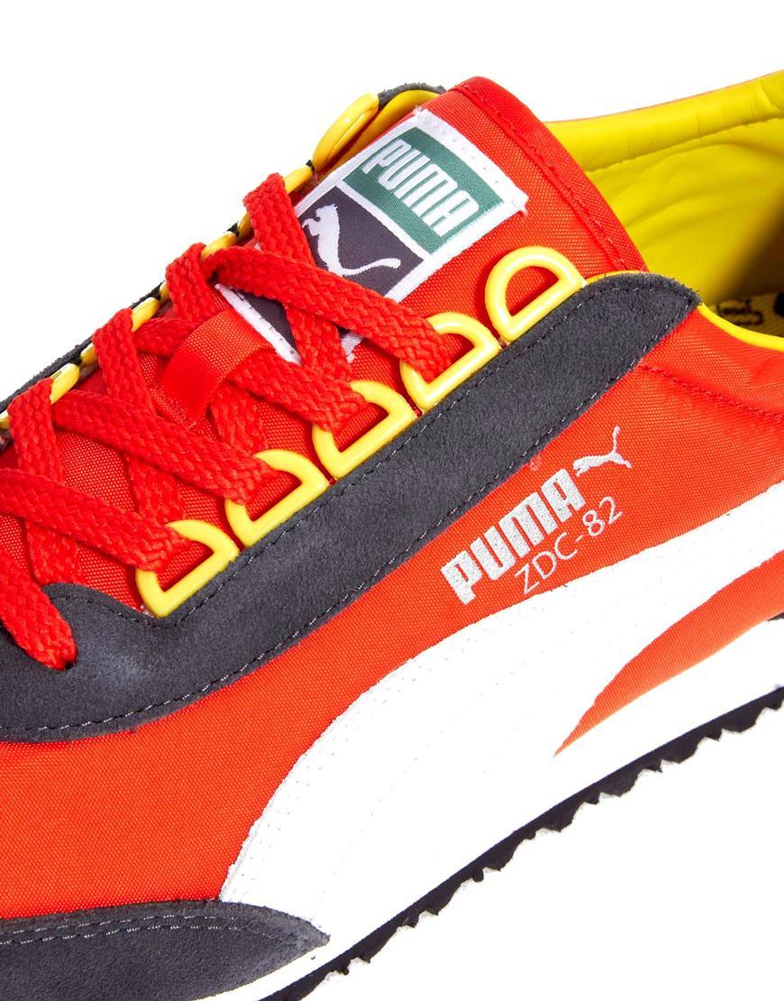 Puma ZDC82 Scarpe da ginnastica in nylon   ASOS