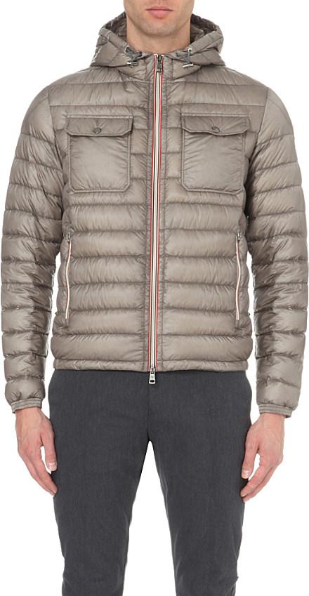 efa8c59d7 Moncler Gray Douret Quilted Jacket for men