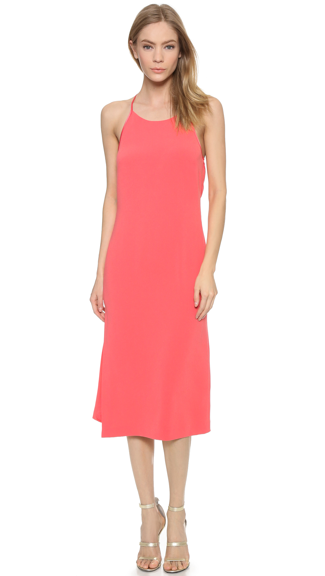 Halston heritage Open Back Dress