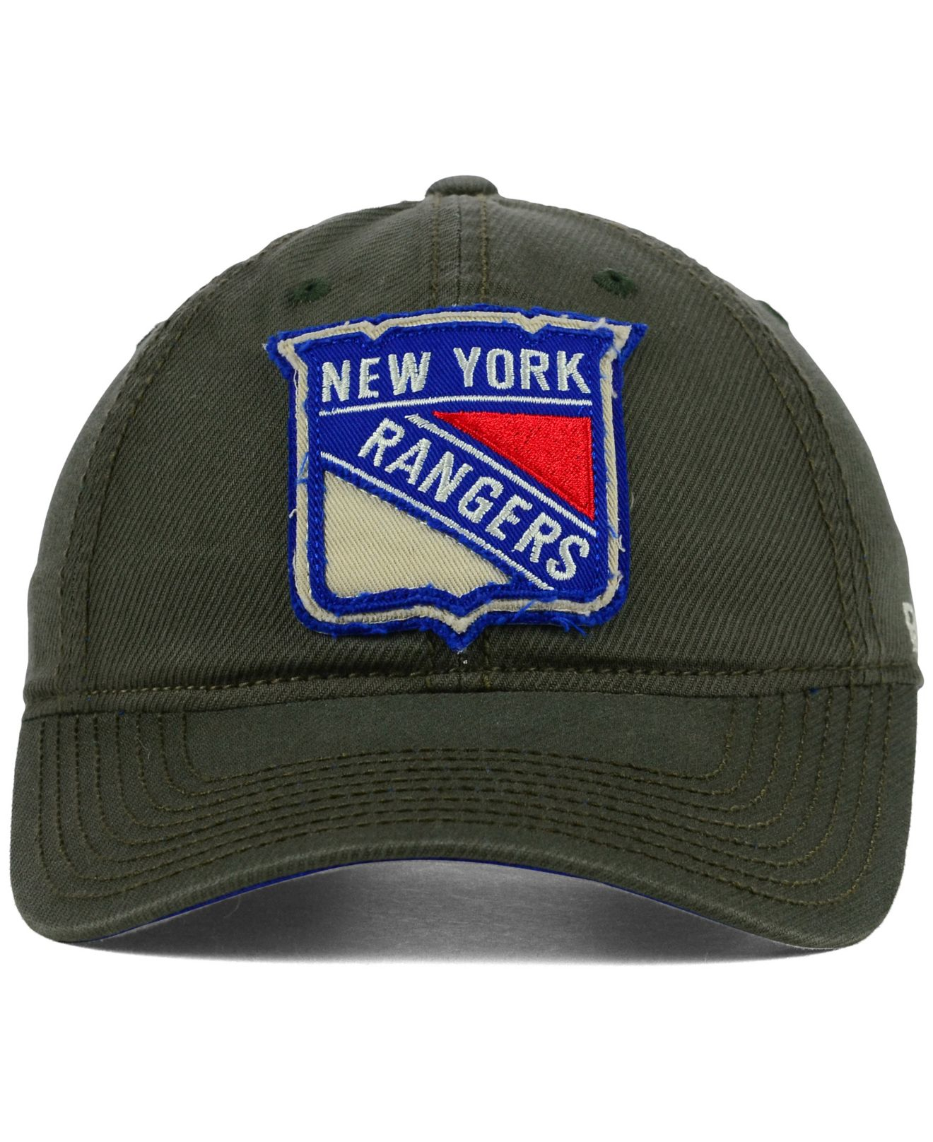 Lyst - Reebok New York Rangers Textured Slouch Cap in Green for Men 05cc5f538af