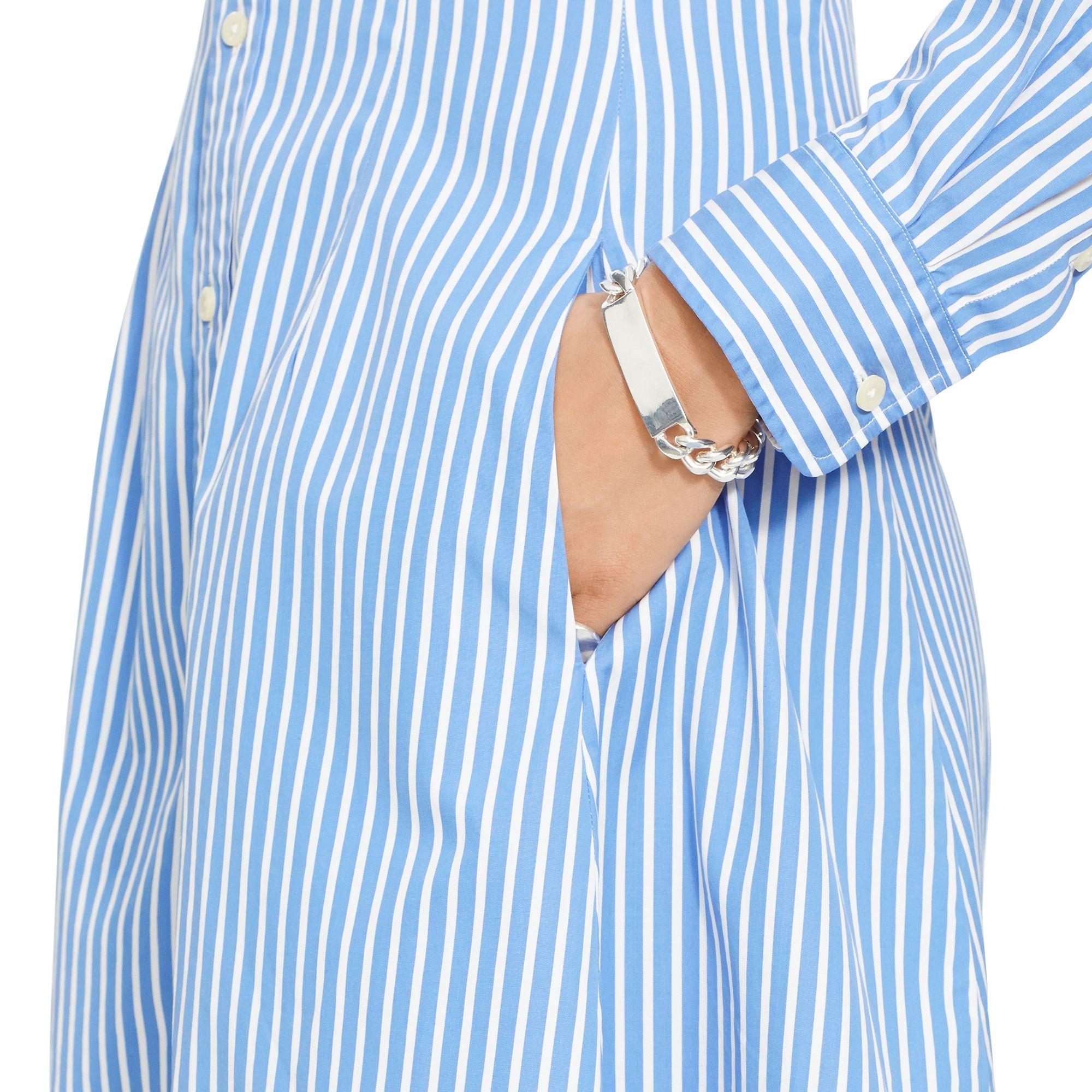 8f8297b099d Polo Ralph Lauren Dori Long Sleeve Striped Shirt Dress