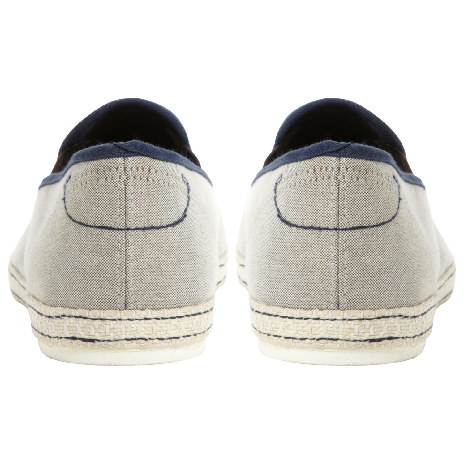 Dune Freedom Canvas Espadrilles in Beige (Natural) for Men