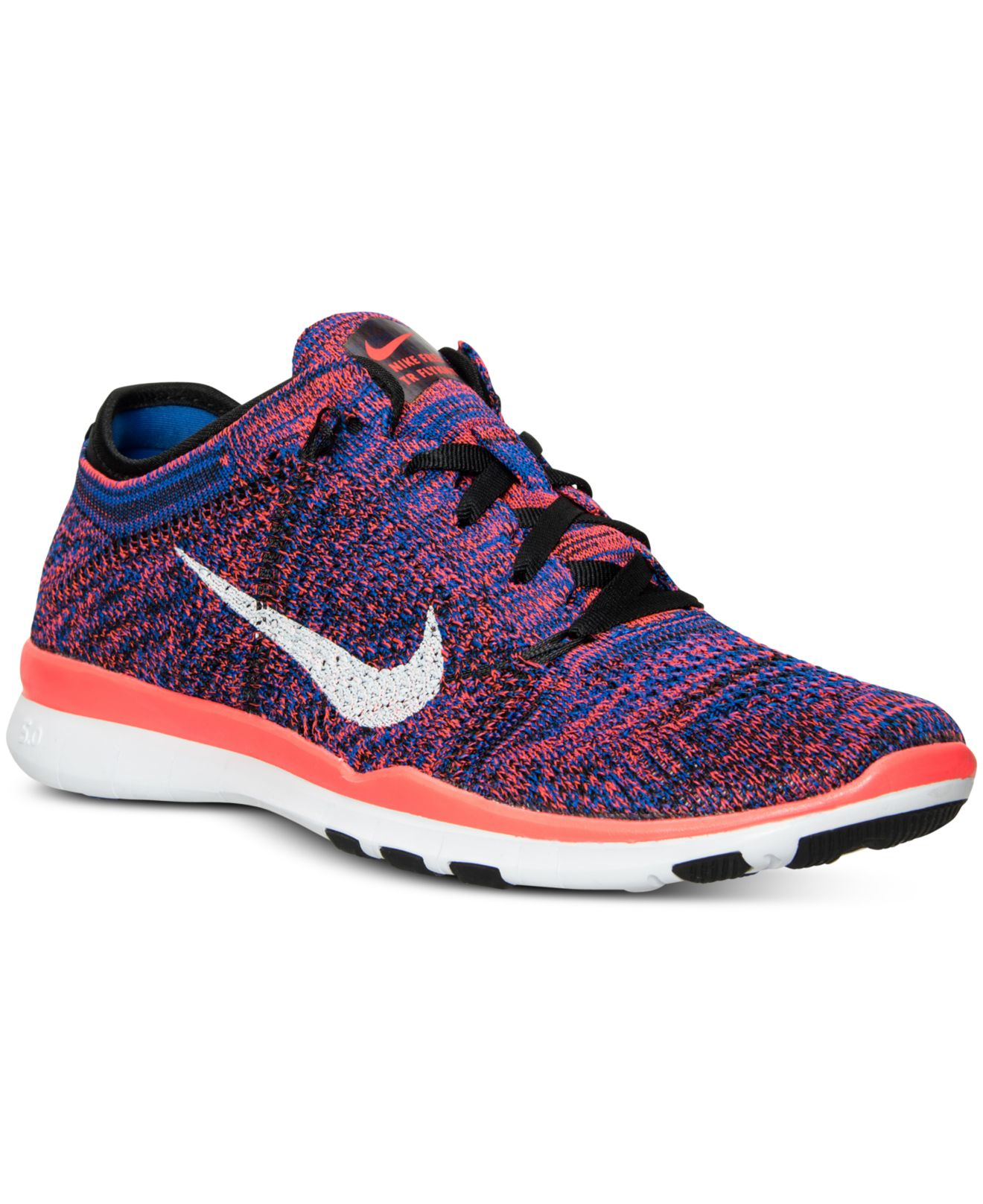 pretty nice 1f1a7 ffb27 Lyst - Nike Women s Free Tr Flyknit Training Sneakers From Finish ...