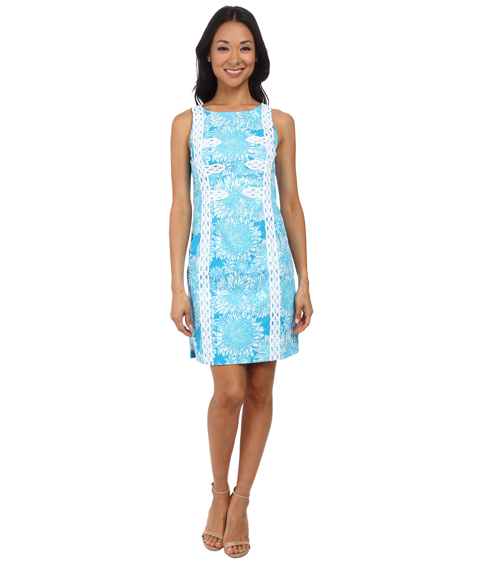 00b335a9043 Lyst - Lilly Pulitzer Mirabelle Shift Dress in Blue