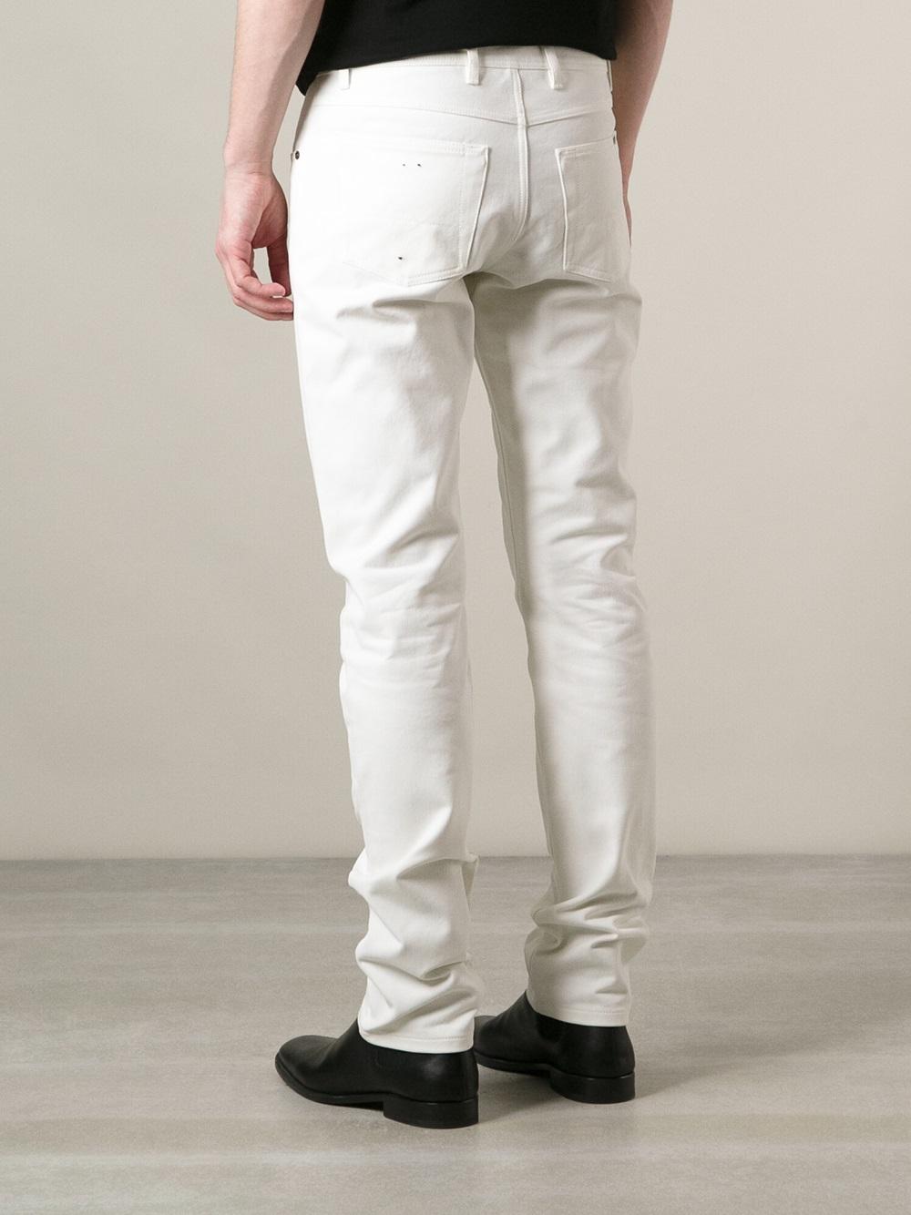 e56596ba6c0c2f Tom Ford Slim Fit Jeans in White for Men - Lyst