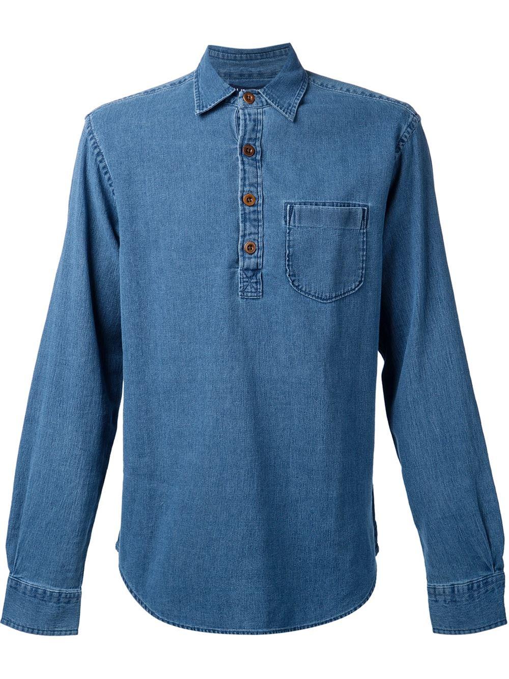 denim shirt pockets - photo #1