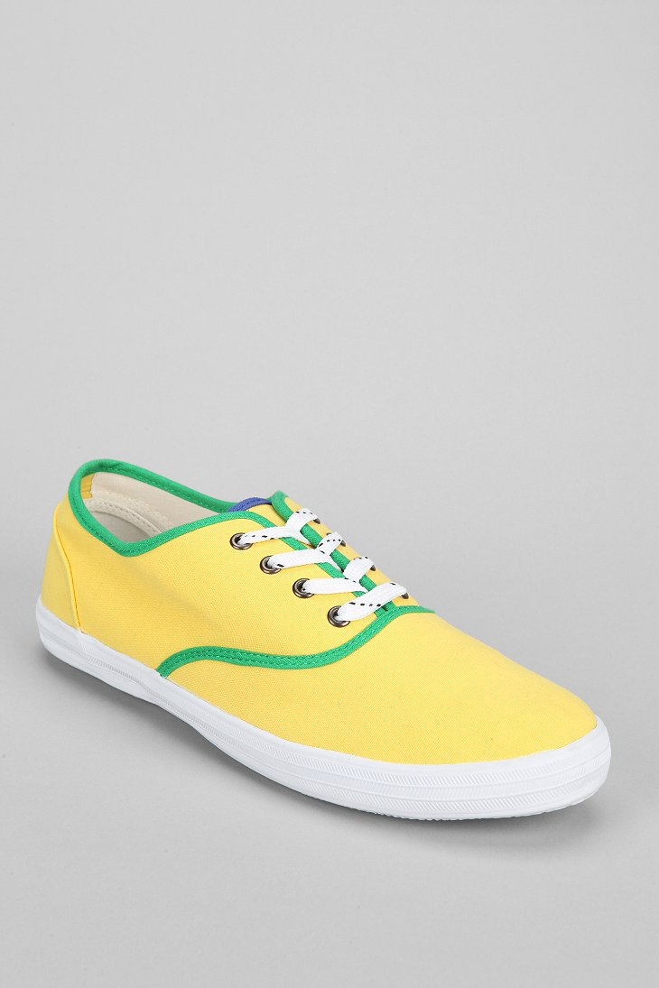 Urban Outfitters World Cup Plimsol Sneaker in Yellow for Men | Lyst