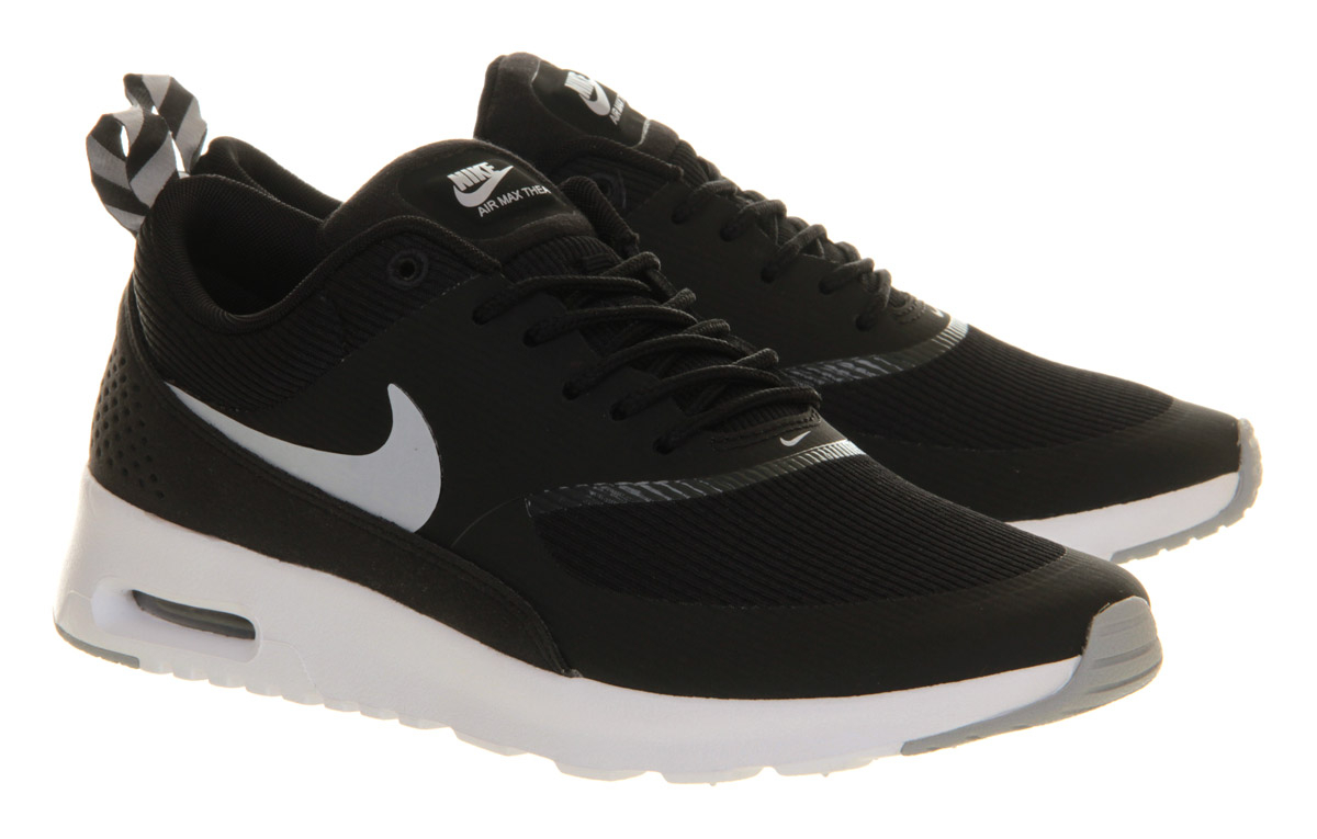 nike air max thea black. Black Bedroom Furniture Sets. Home Design Ideas