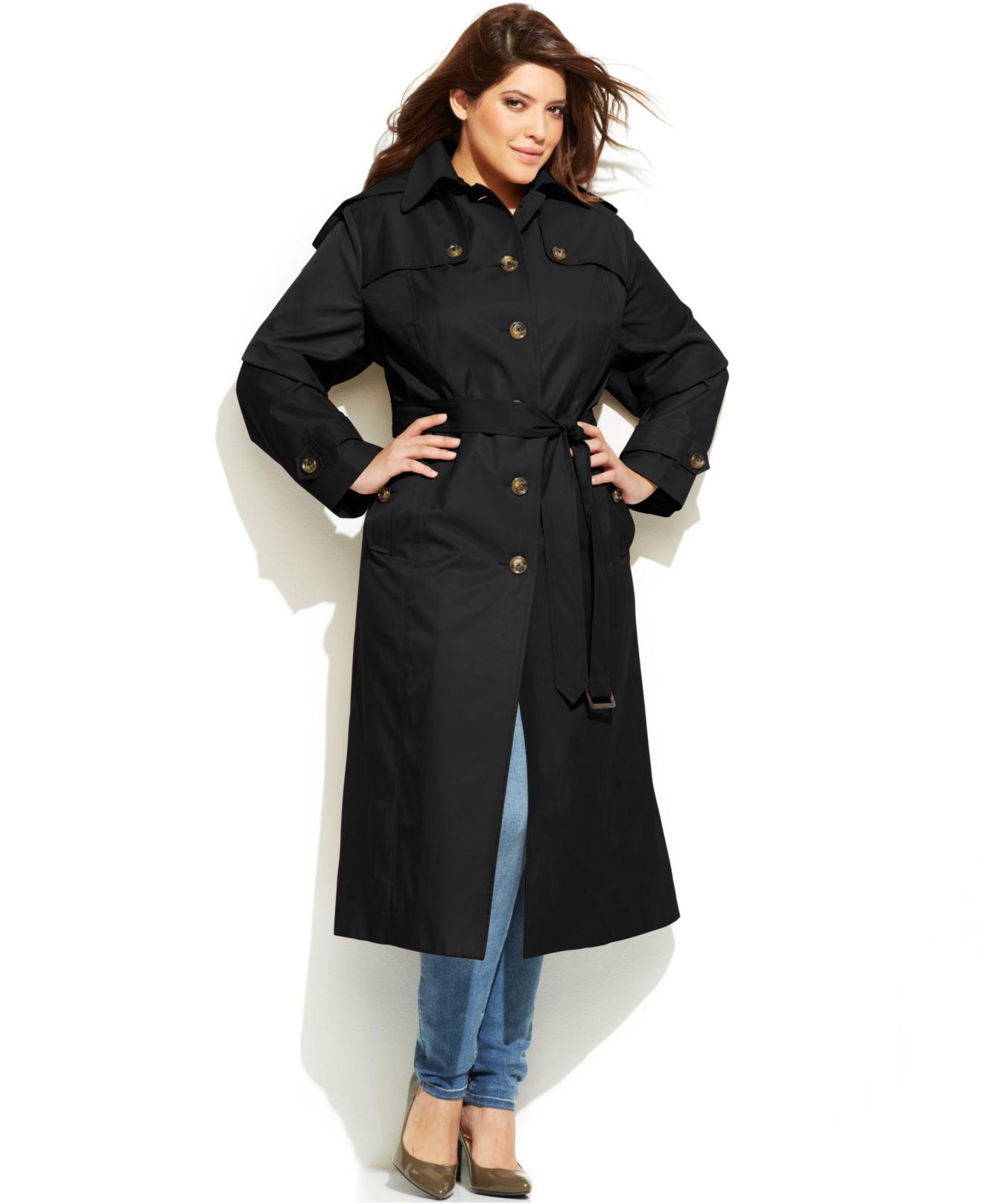 Women pea coat with hood