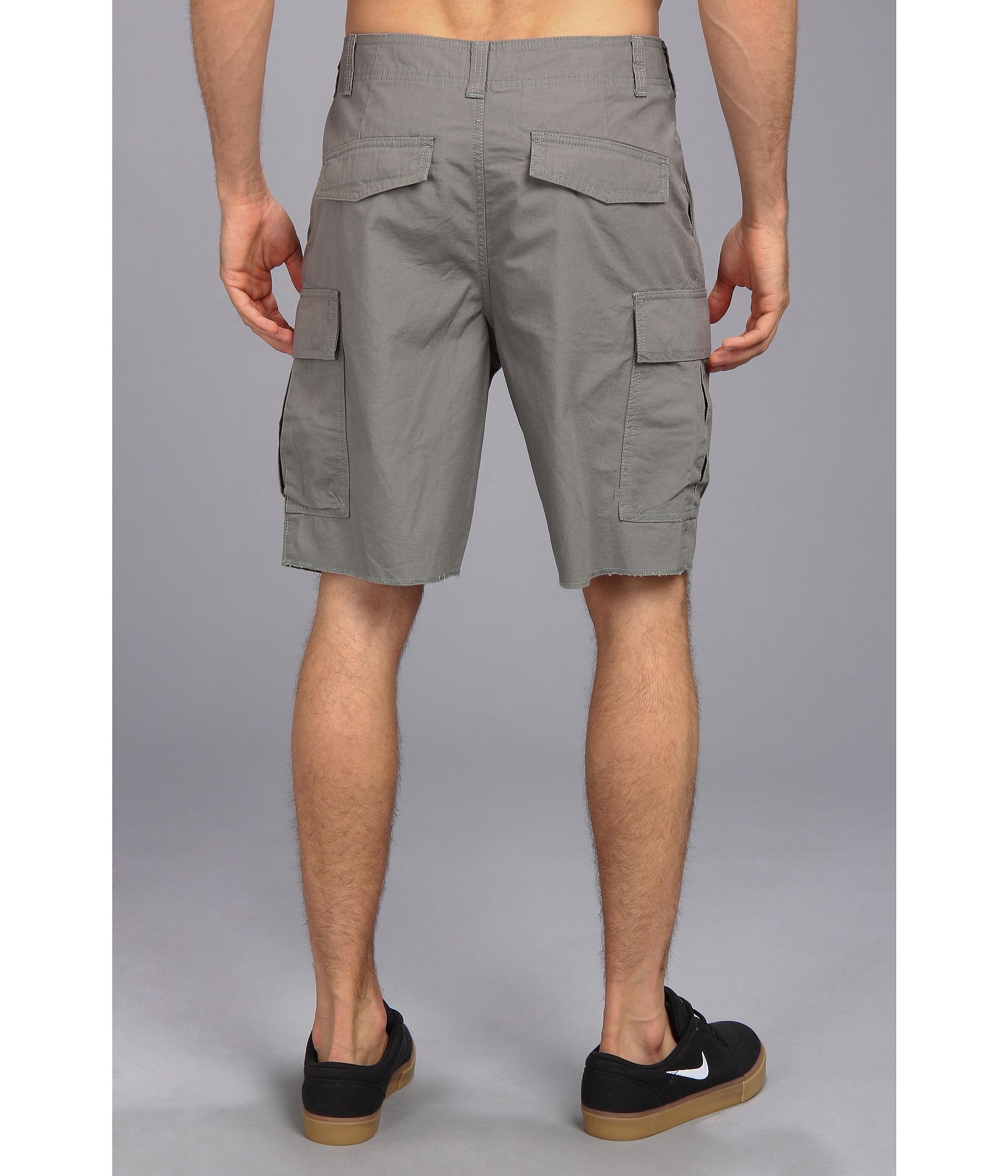 Nike Sb Hawthorne Cargo Short in Gray for Men | Lyst