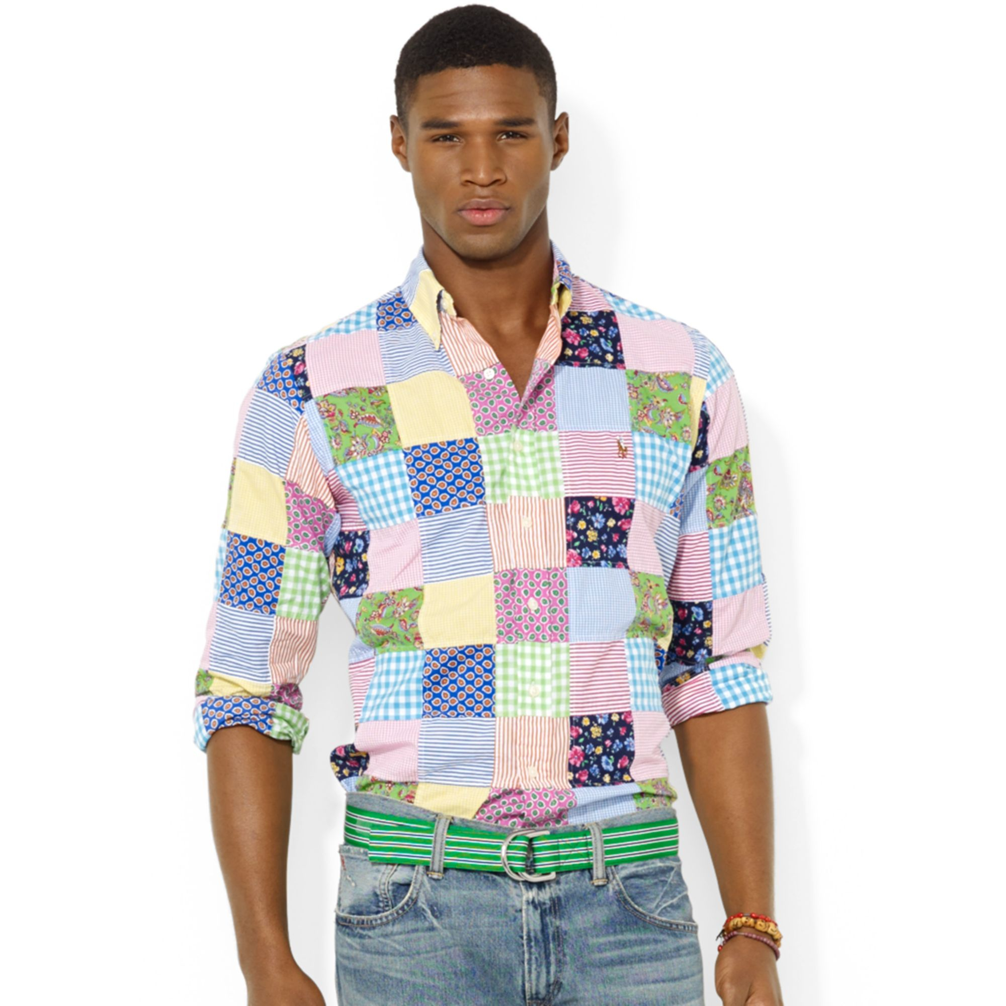 Men's sport shirts at Brooks Brothers help you achieve that unmistakably relaxed look while maintaining a classic sense of style. Available in a wide variety of solid colors, stripes, plaids and other patterns, our selection of casual button-down shirts lets you find the right aesthetic to fit your taste.
