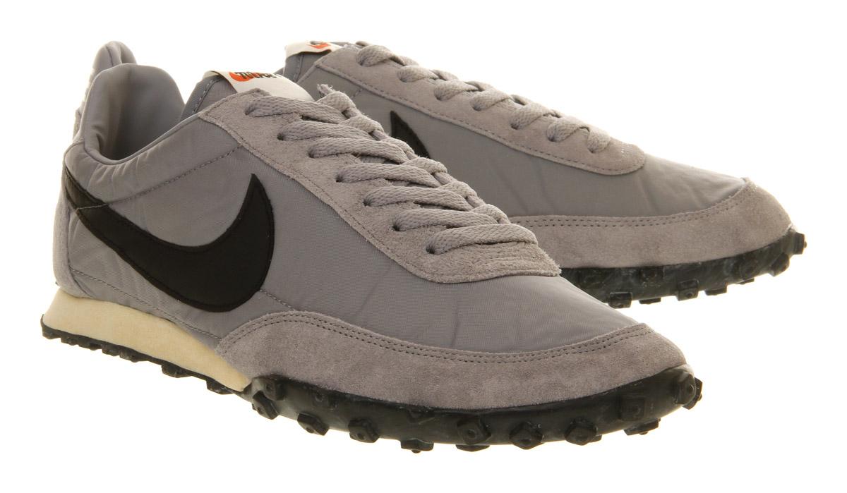 sale retailer fd63c bfed5 Nike Waffle Racer Vintage Stadium Grey Black in Black for Men - Lyst