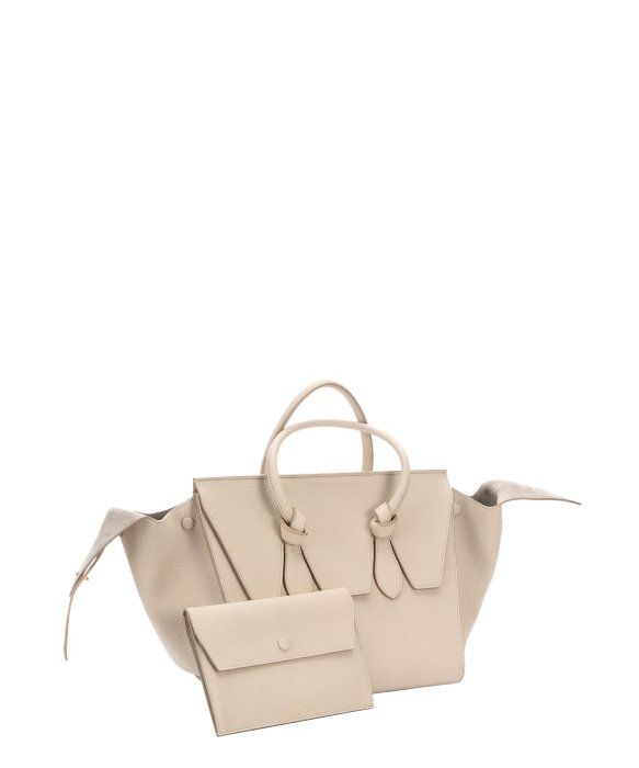 celine leather handbag trapeze
