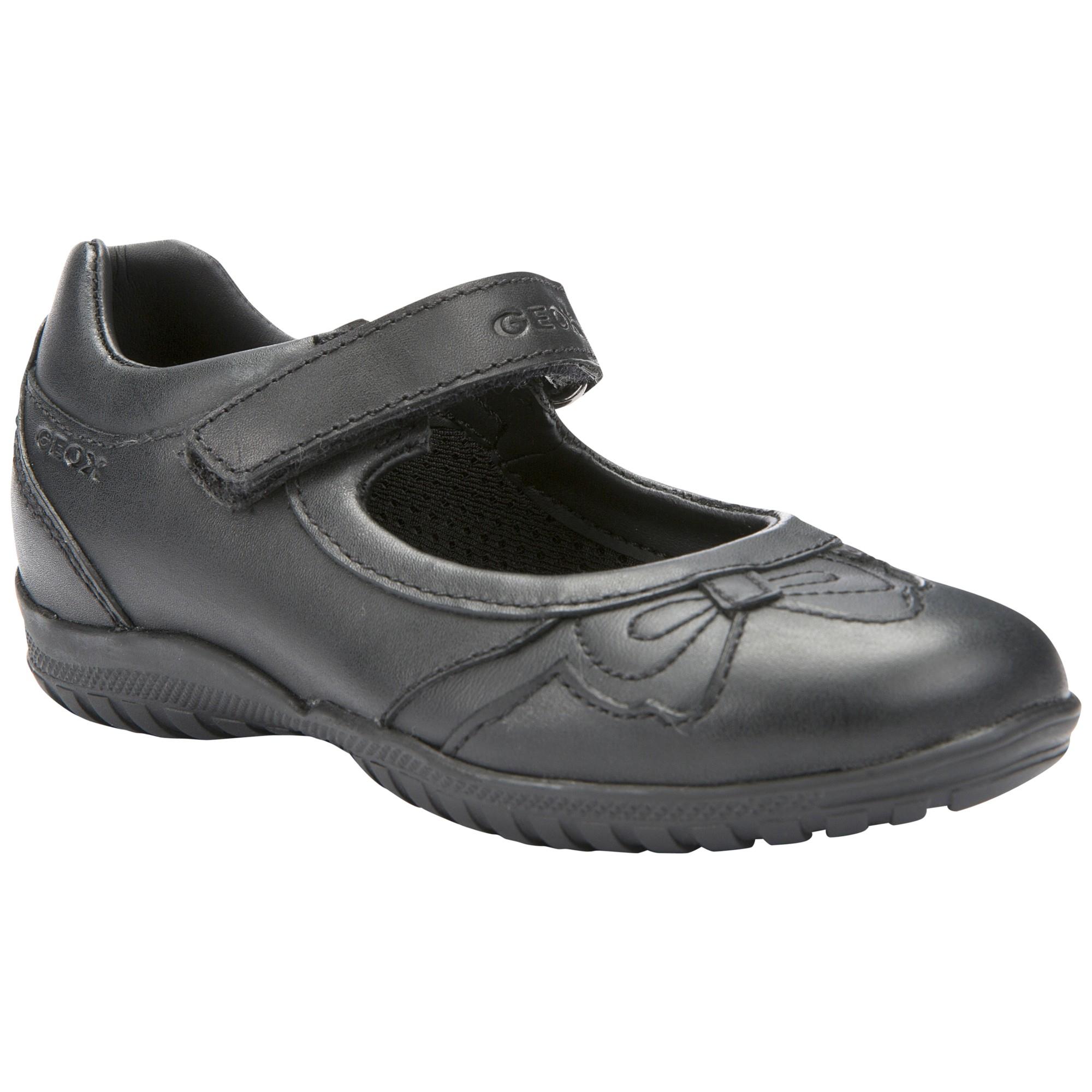aca81f540 Geox Shadow Bow Shoes in Black - Lyst