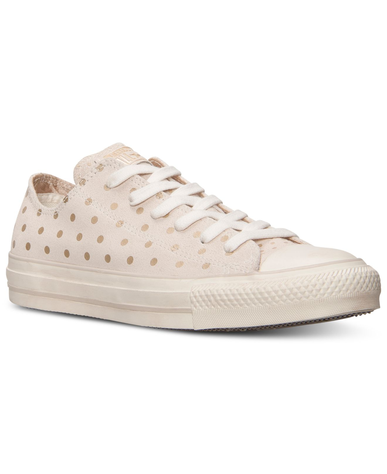 9d29e069971b29 Lyst - Converse Women S Chuck Taylor Ox Printed Suede Casual Shoes ...