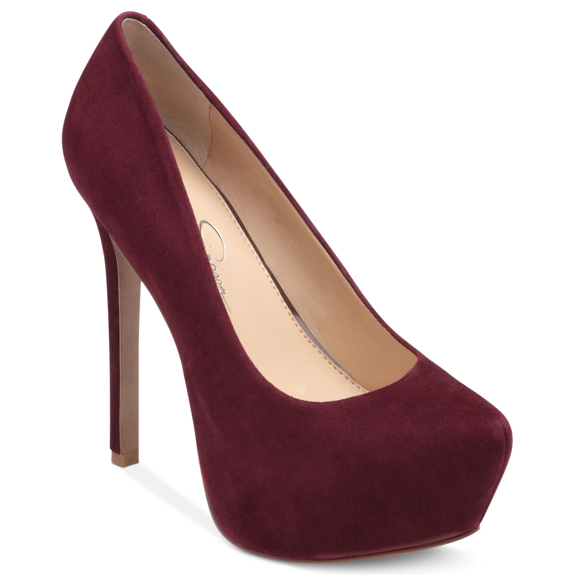 Jessica Simpson Red Platform Shoes