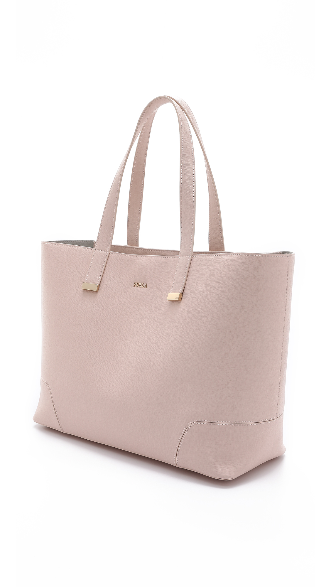 Furla Stacy Large Tote - Pale Pink in Pink | Lyst