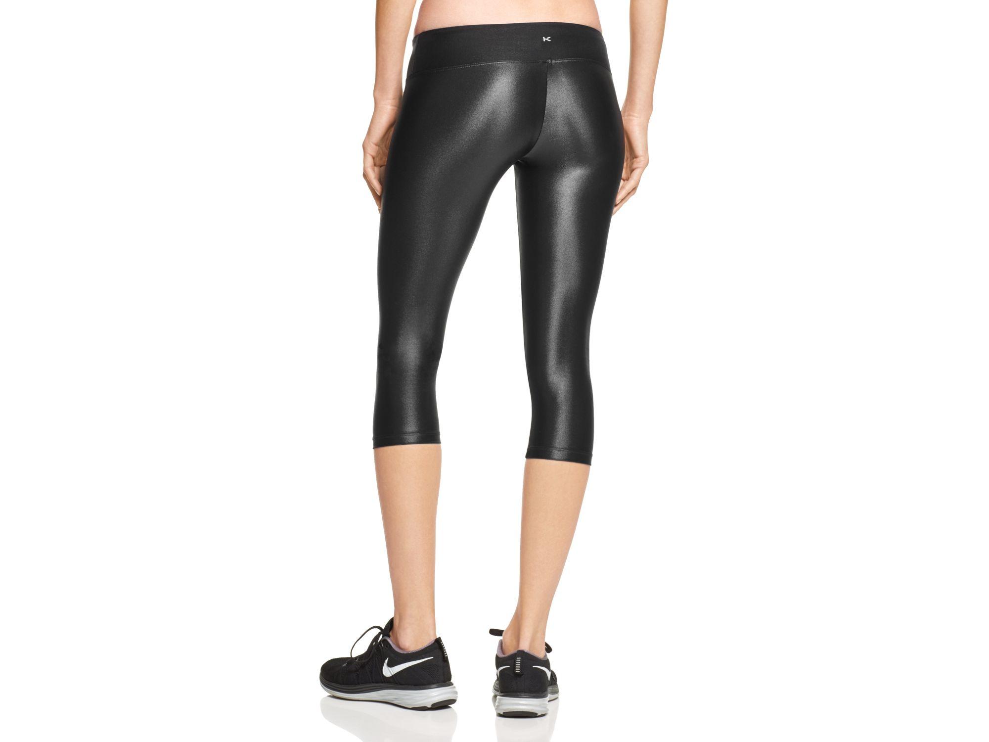 Koral Activewear Lustrous Capri Leggings in Black   Lyst