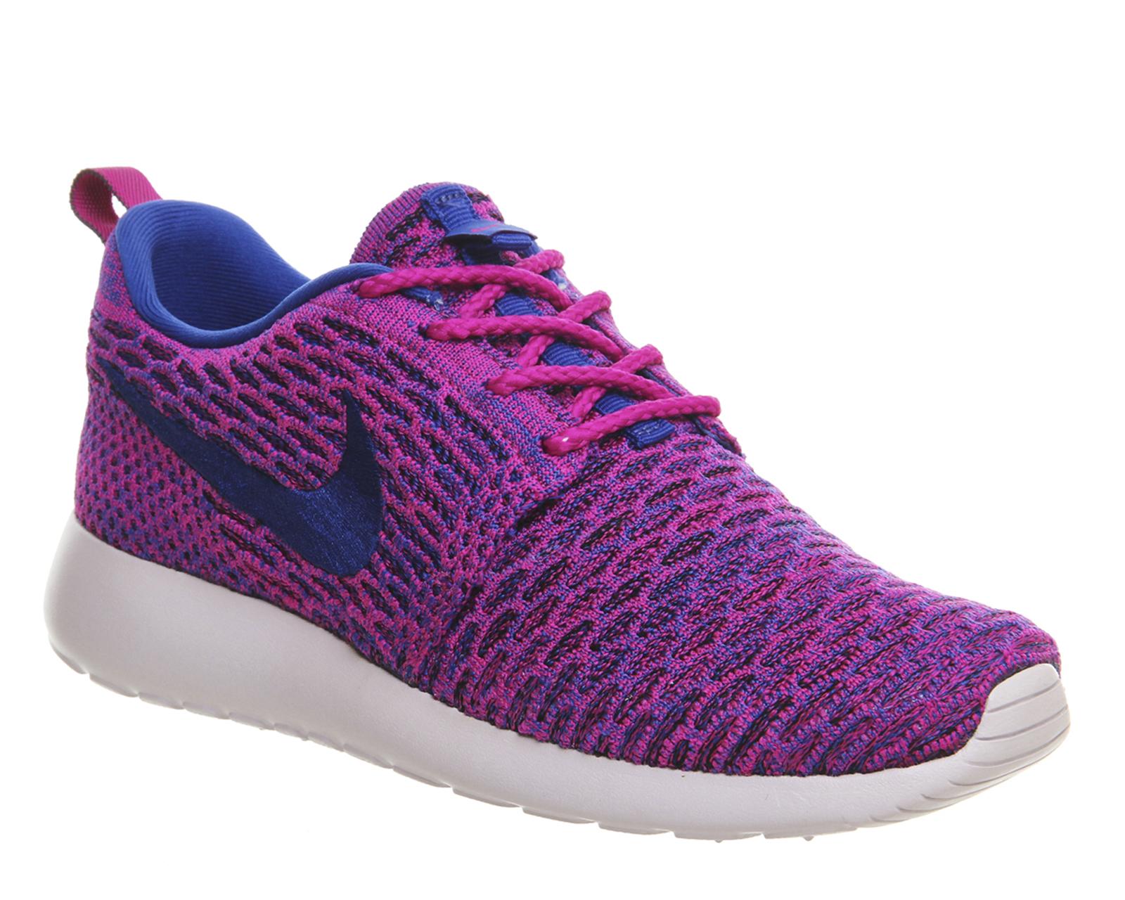 Nike Roshe Flyknit Womens Blazer Violet offres spéciales iEKD2j6K3W