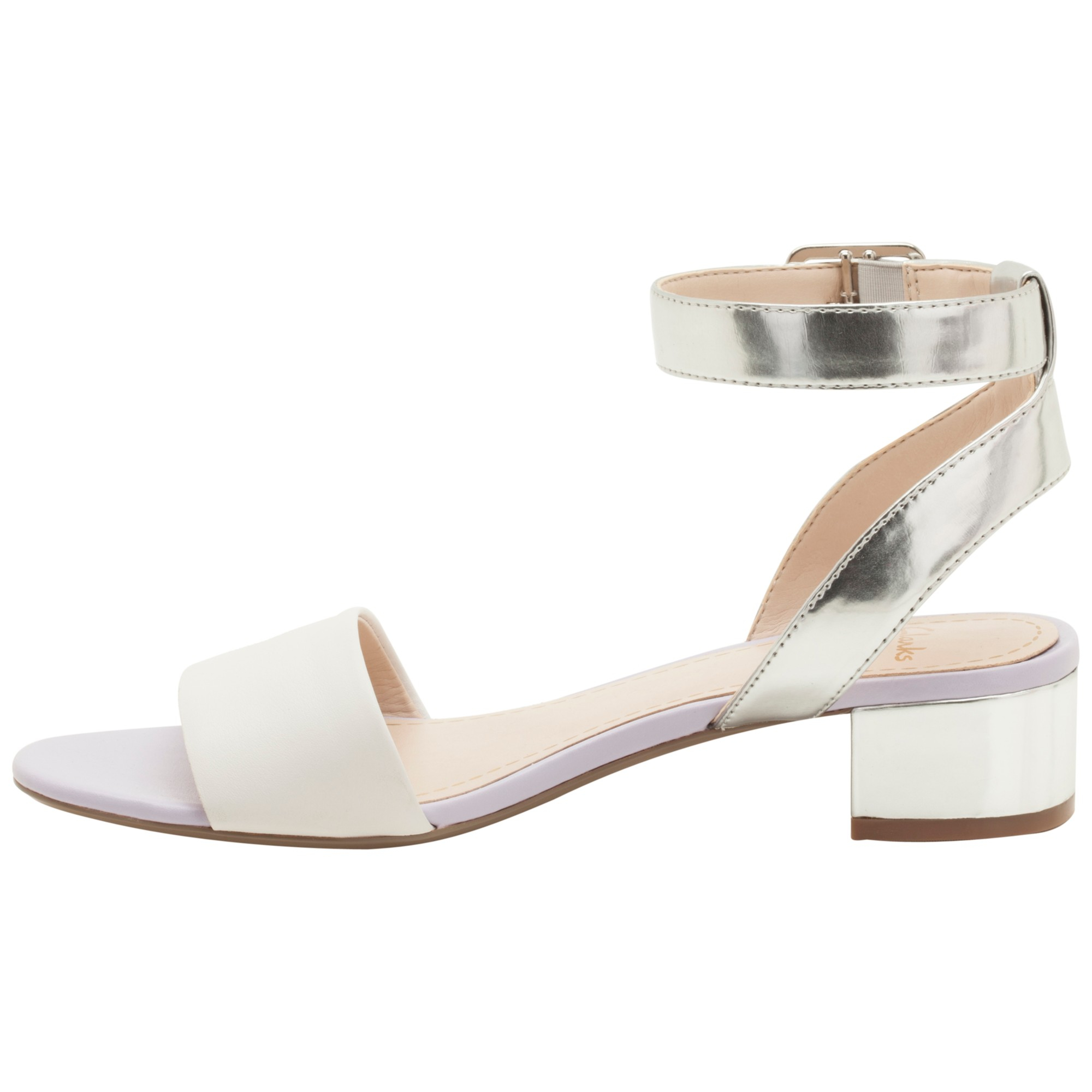 2cc742e12715e2 Clarks Sharna Balcony Sandals in White - Lyst