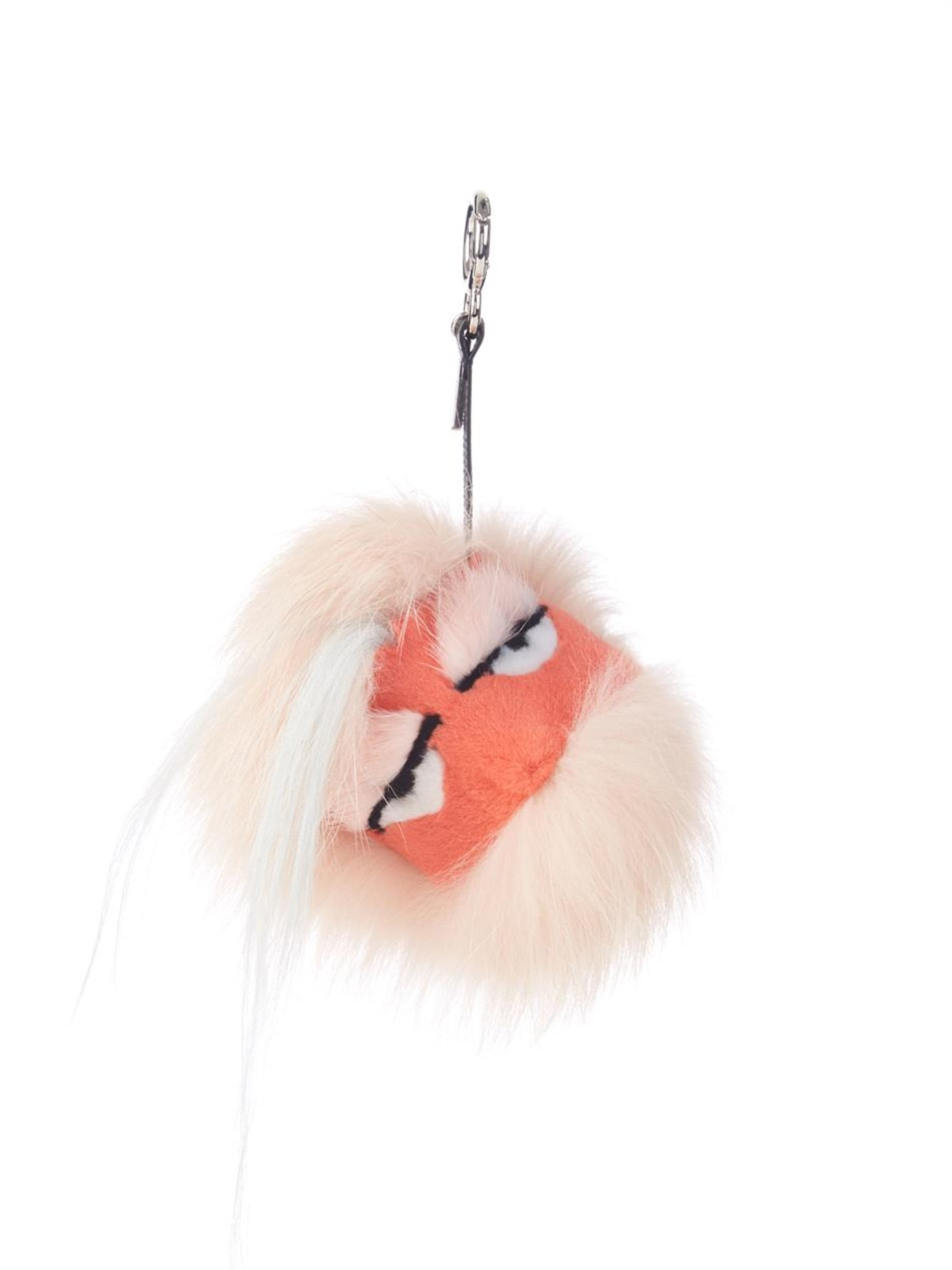 57670a0aef51 ... best price gallery. previously sold at matchesfashion womens fendi bag  bugs e4188 6ec6d low price fendi bag bug charm fur pink ...