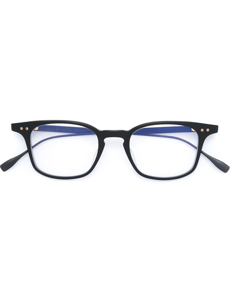 Dita eyewear Square Frame Glasses in Black for Men | Lyst Dita Eyewear