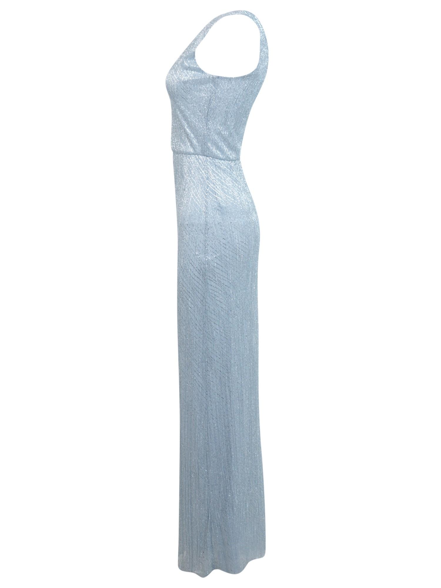 Miss selfridge devore maxi dress